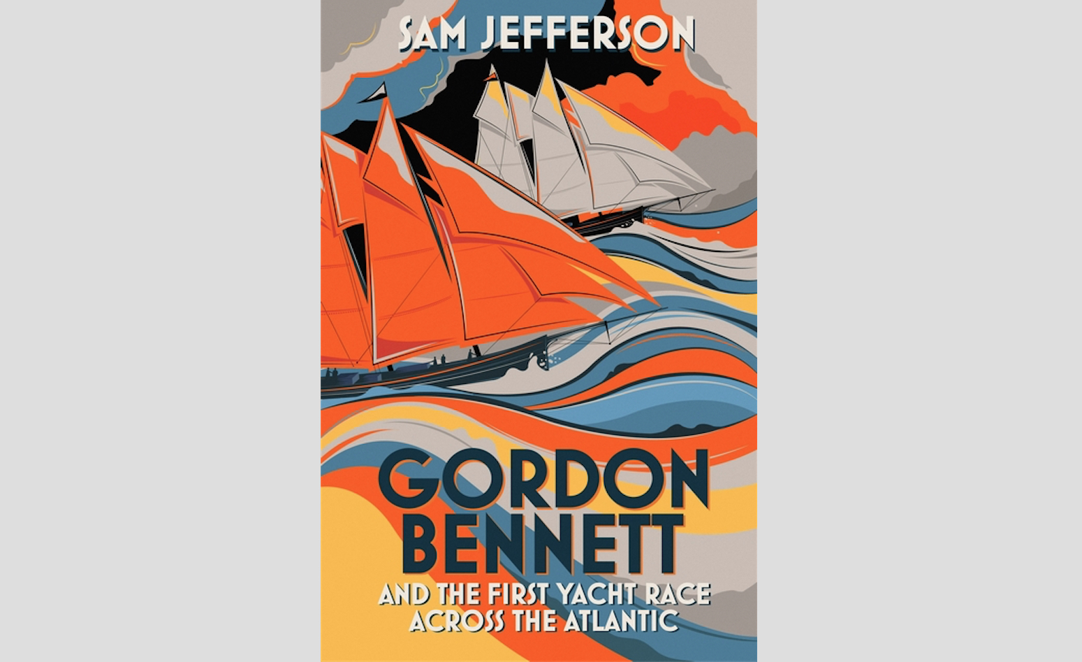 Fireside Reading: Gordon Bennett and the first yacht race across the Atlantic