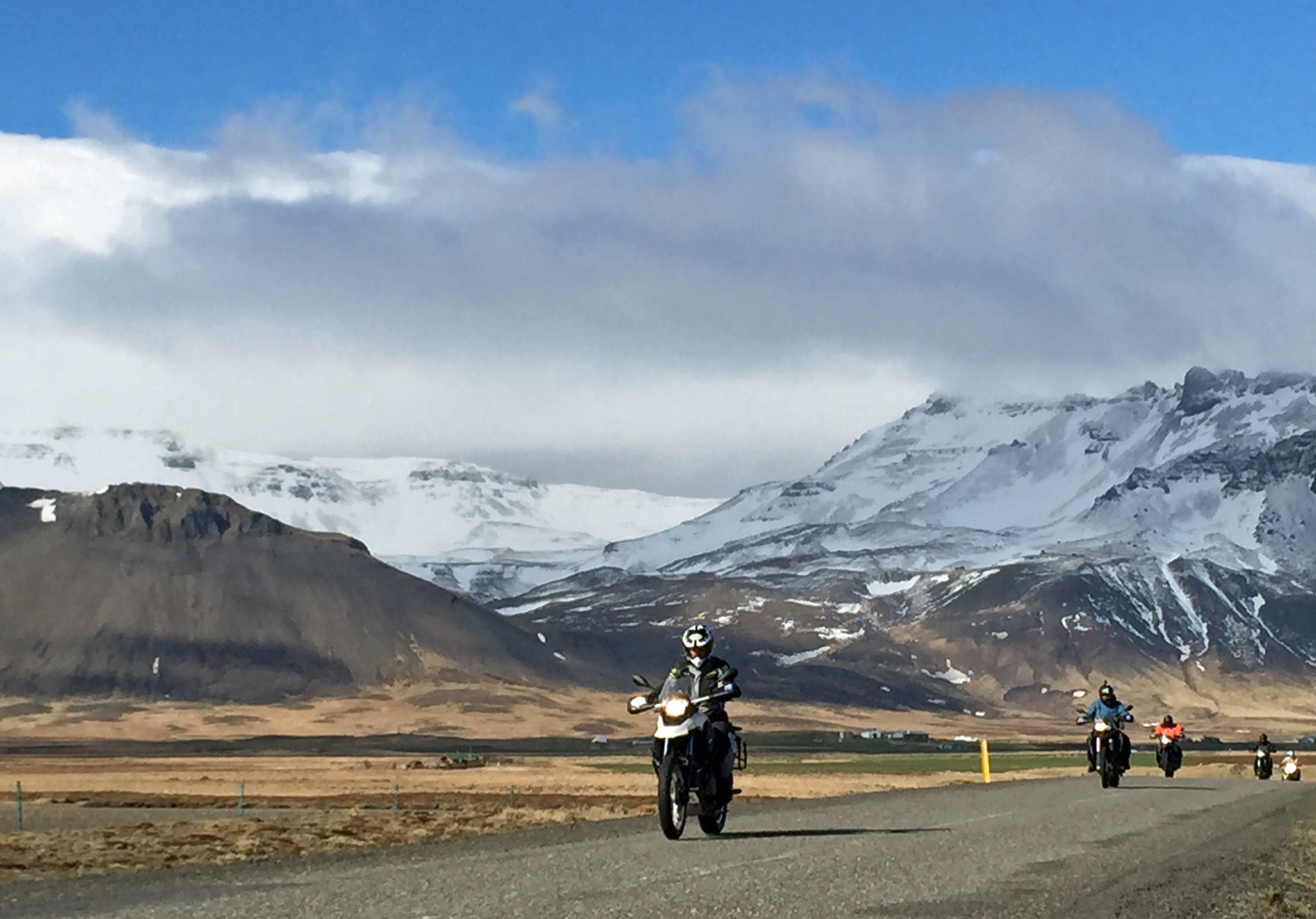 GlobeBusters announces two motorcycling tours in Iceland