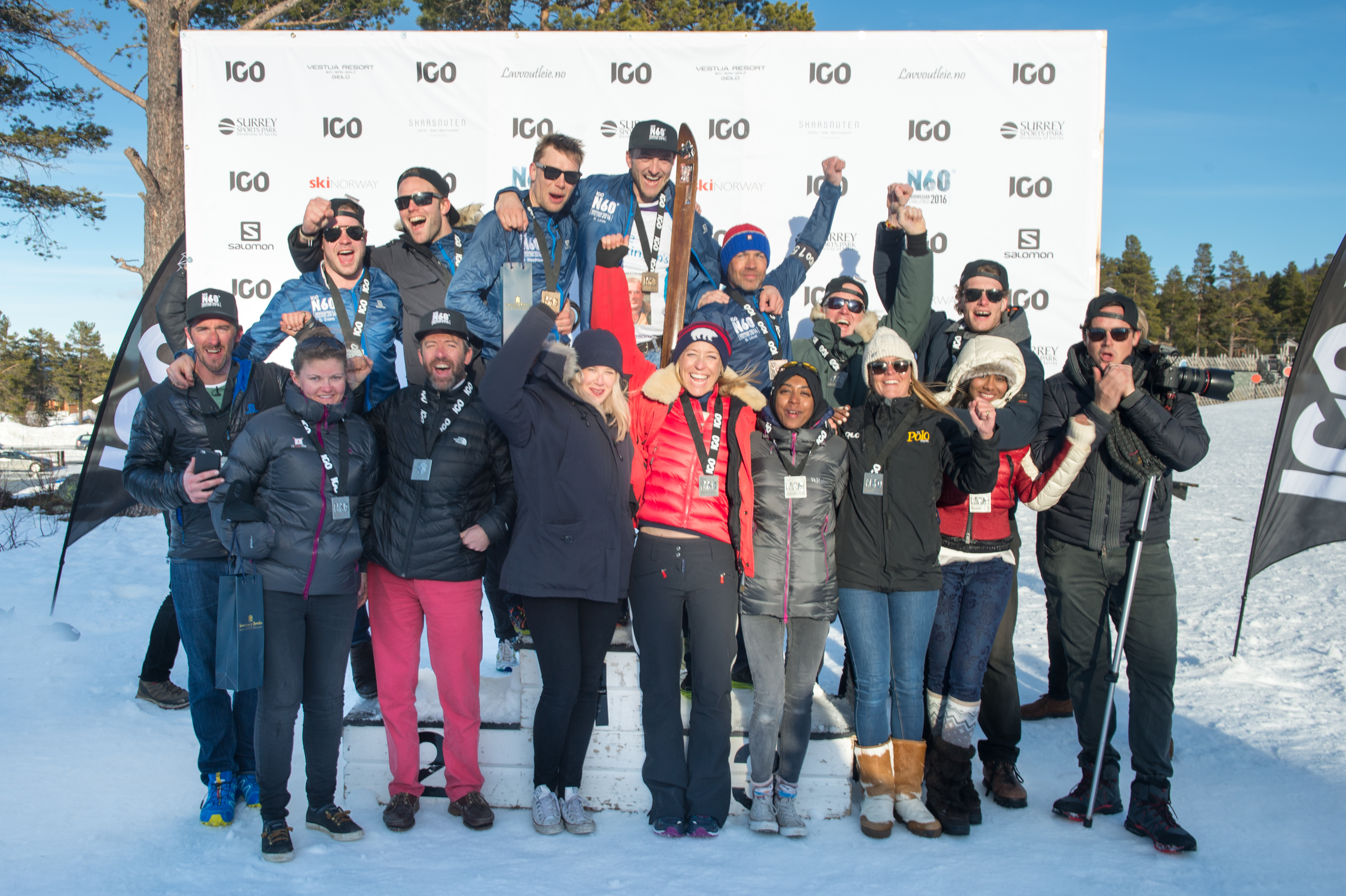 Adventurers complete the first ever N60 Norwegian Challenge