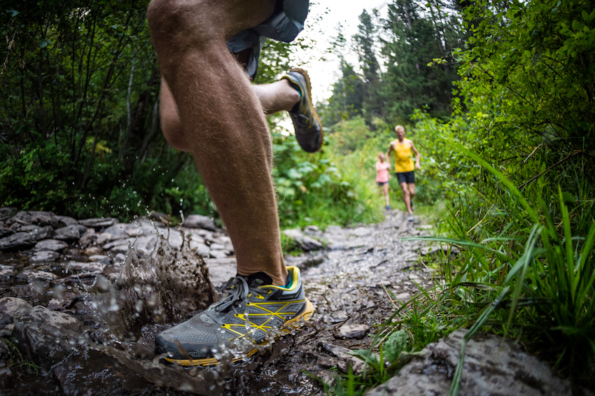 The North Face Ultra Endurance trail running shoe