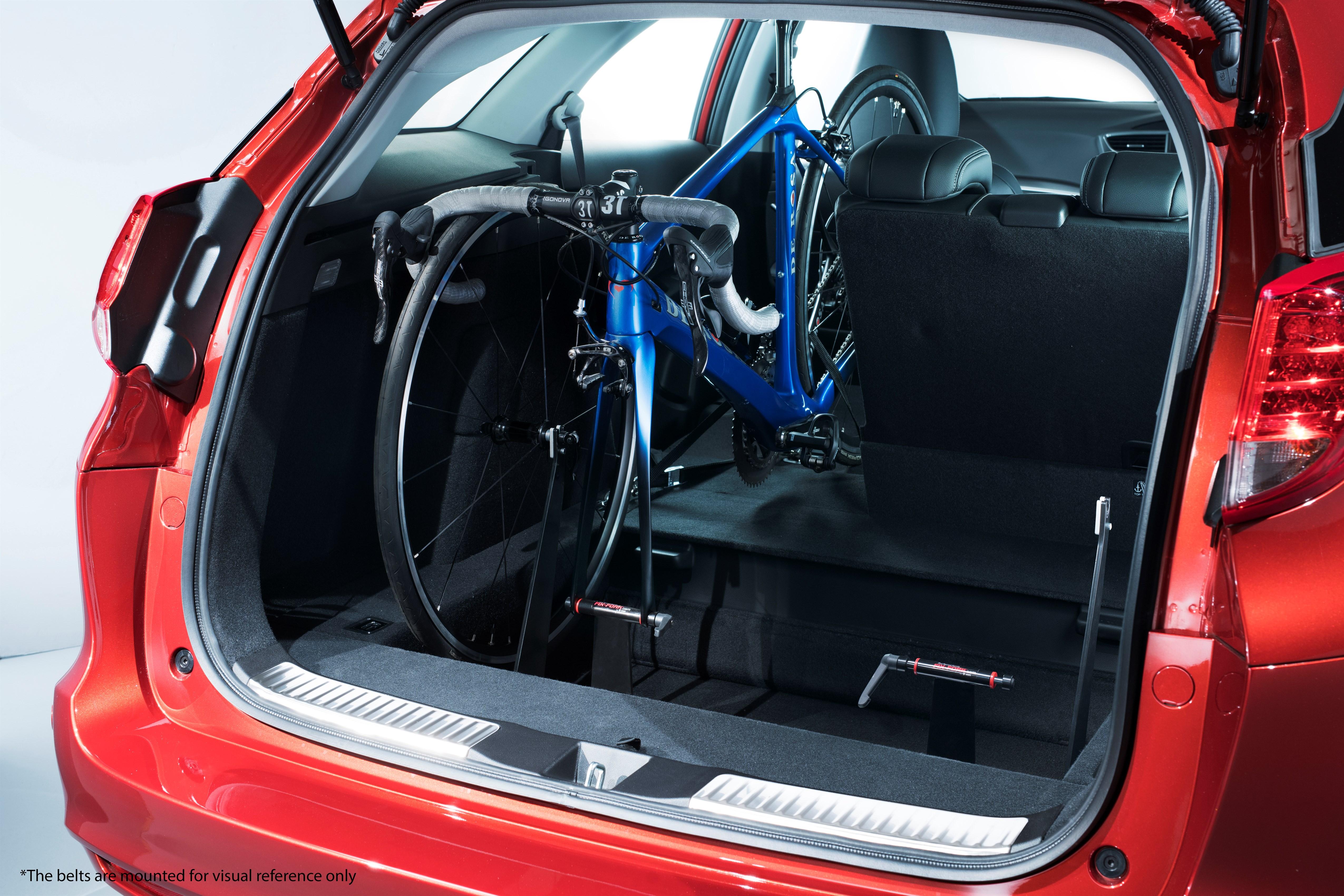 Honda's cool new in-car bike rack for the Civic Tourer