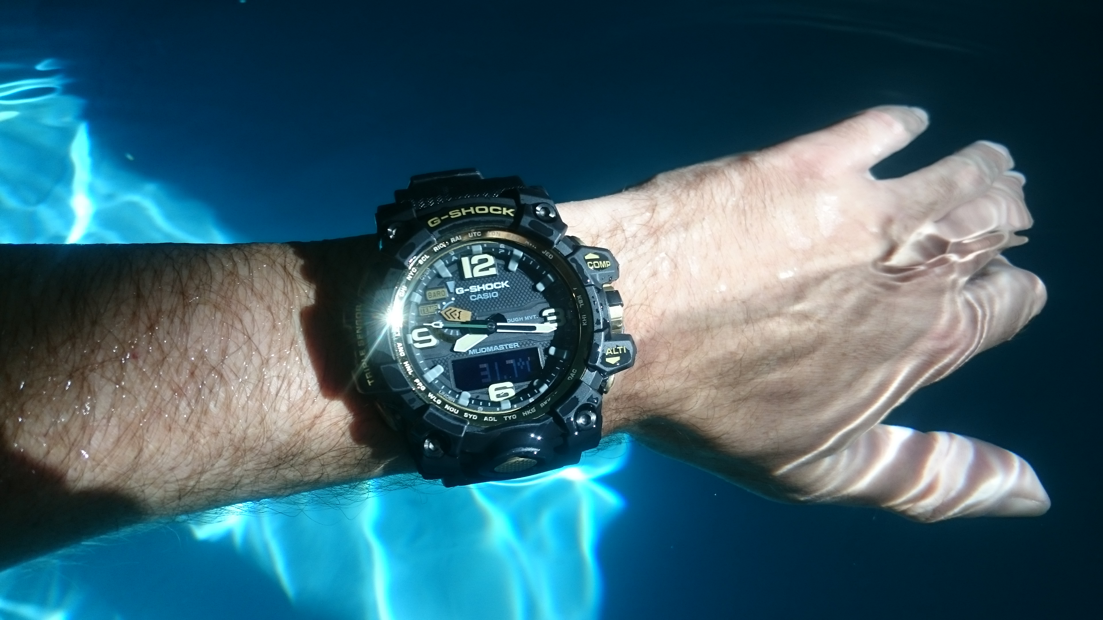 Hands on with the Mudmaster G-SHOCK watch