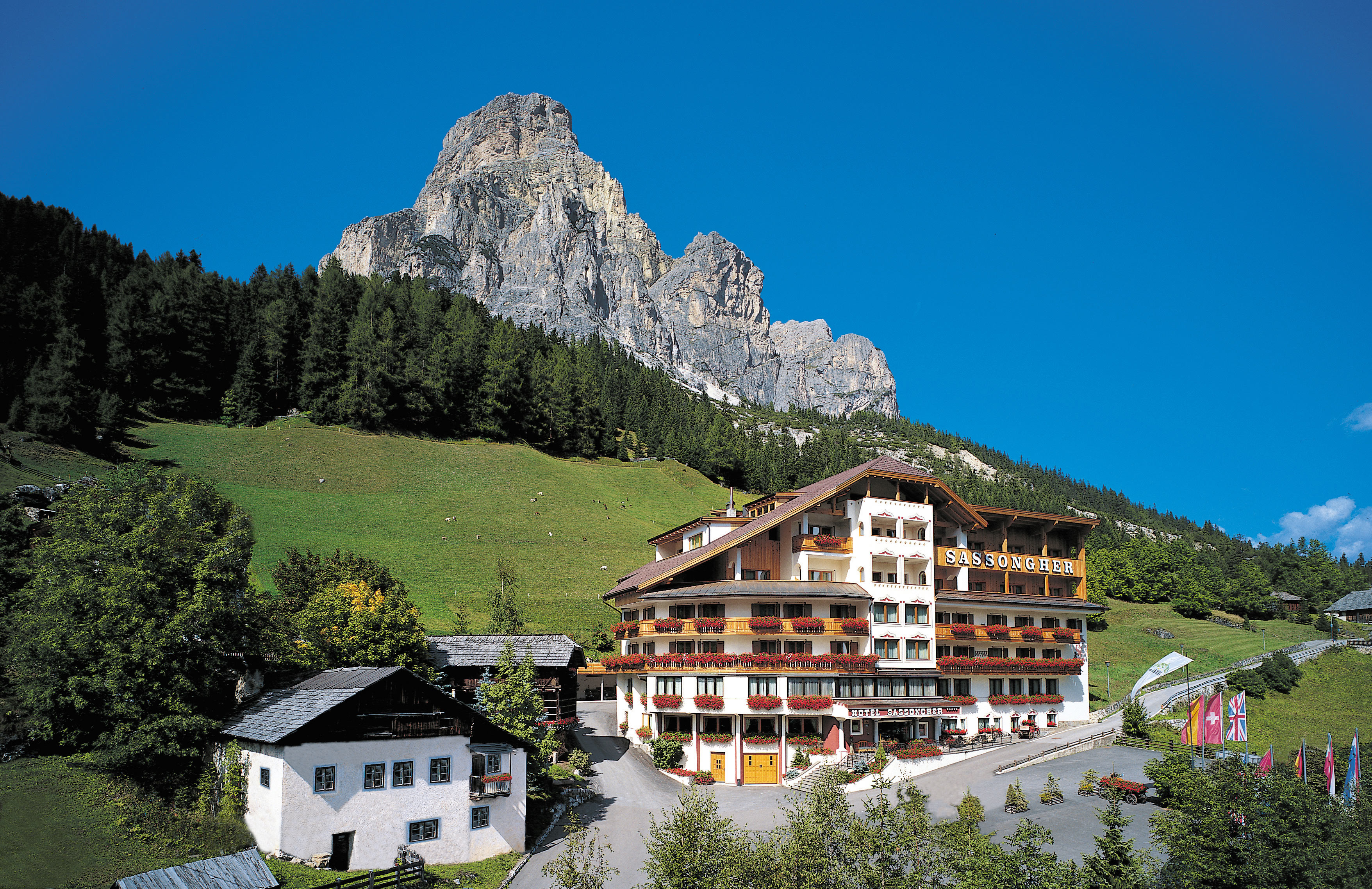 Hotel Sassongher in the Dolomites