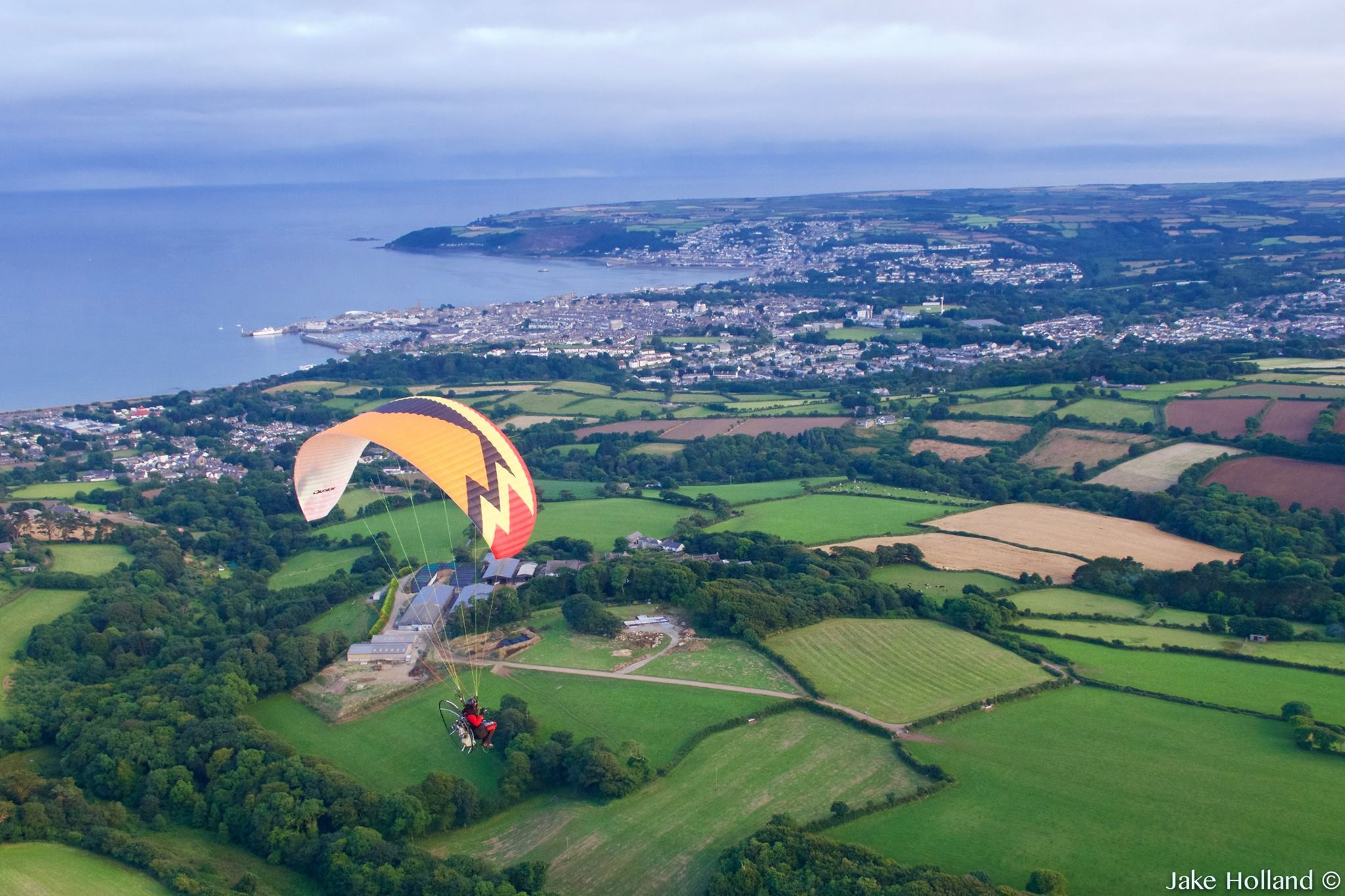 Video: John O'Groats to Land's End by paramotor
