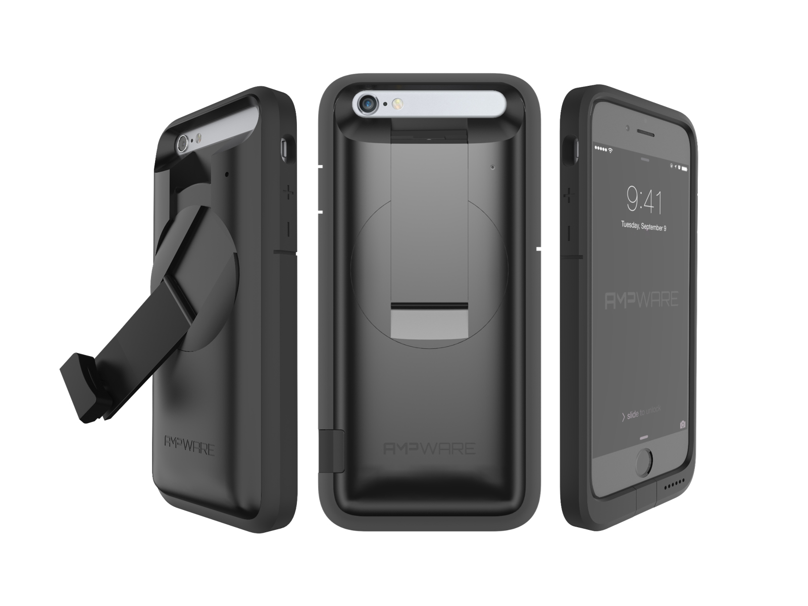 The world's first dynamo iPhone case charger