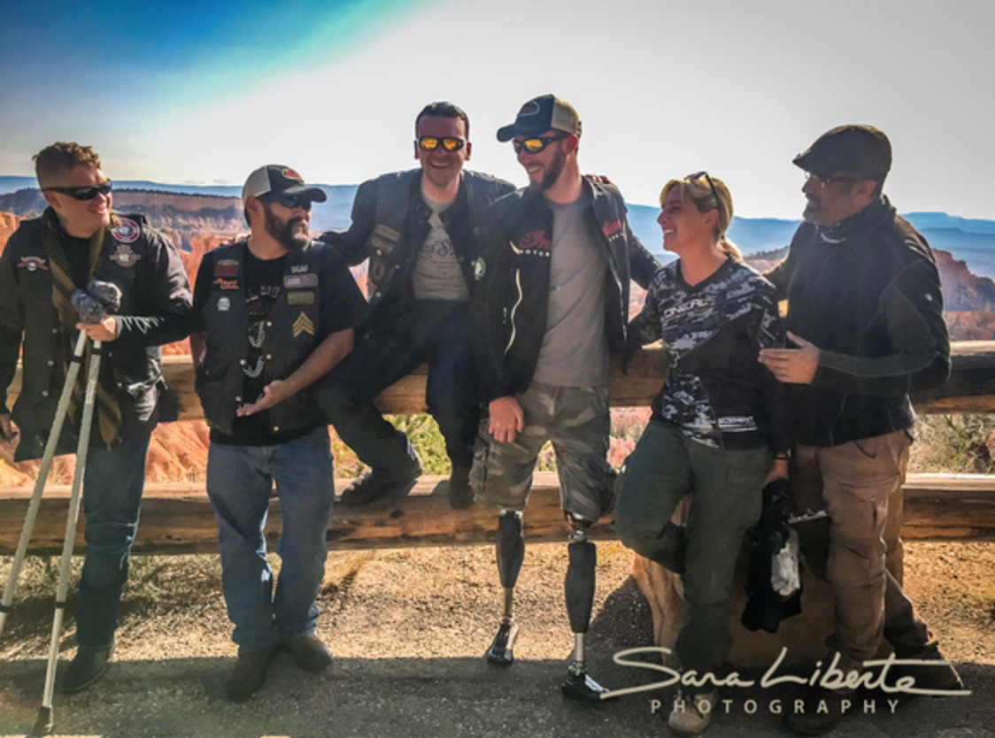 Motorcycling therapy for US veterans as they ride from LA to the Sturgis Rally