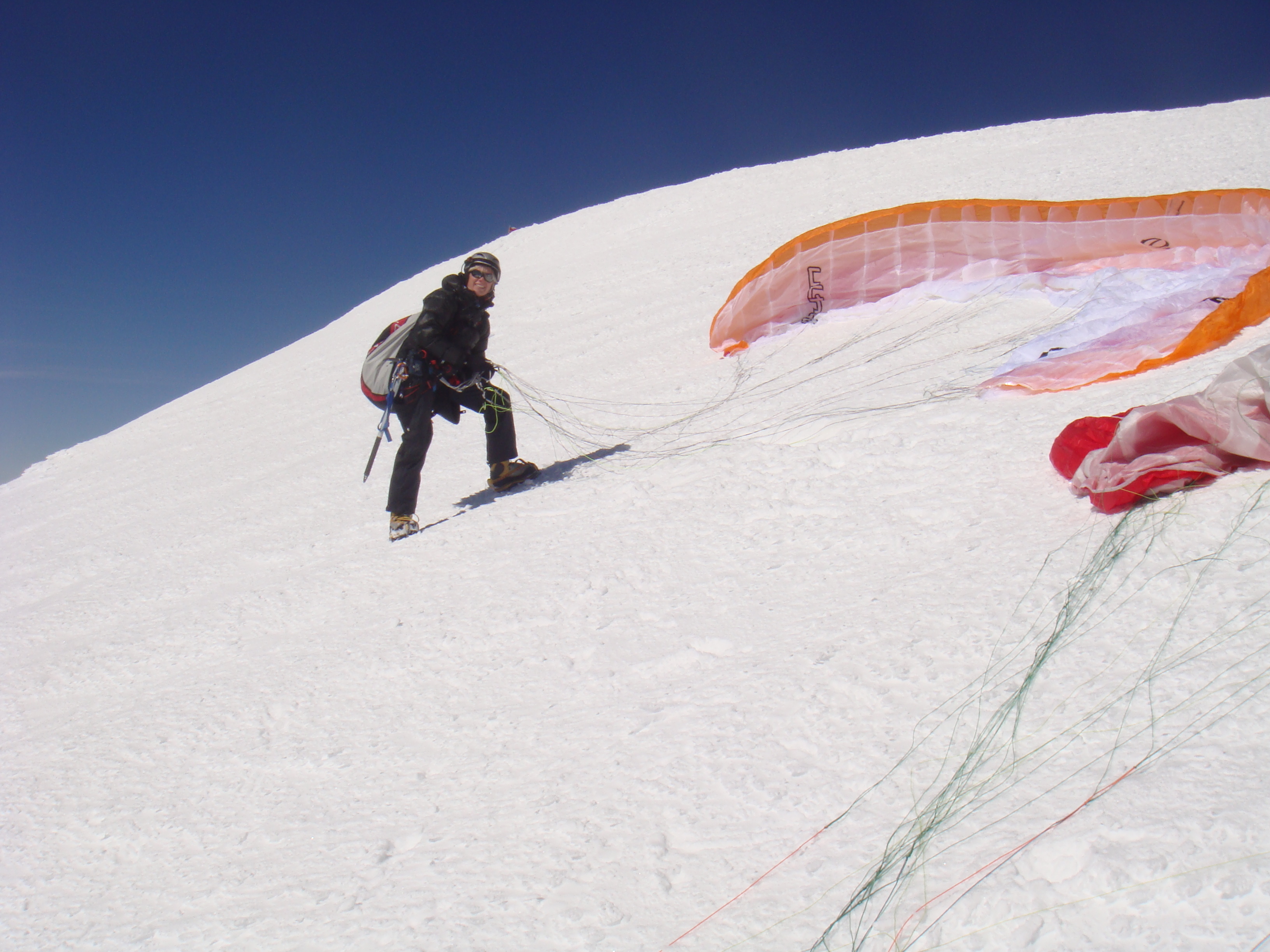 Squash Falconer on her plans to paraglide off Everest