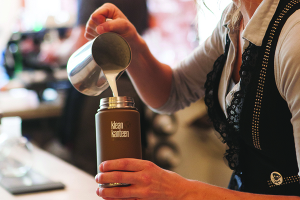 Which high street coffee shop rewards if you #BringYourOwn mug?