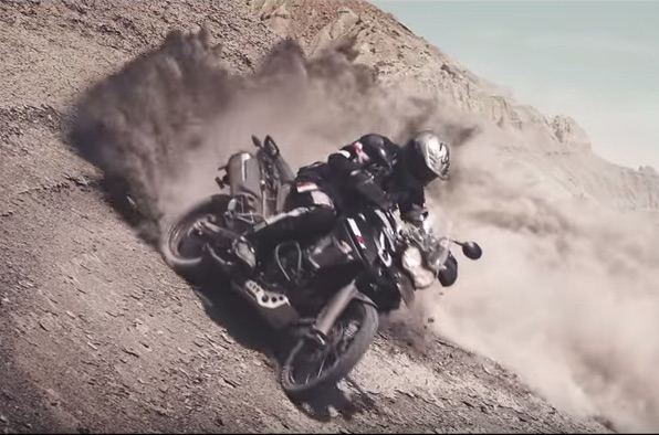 Video: See the Triumph Adventure range take on Utah