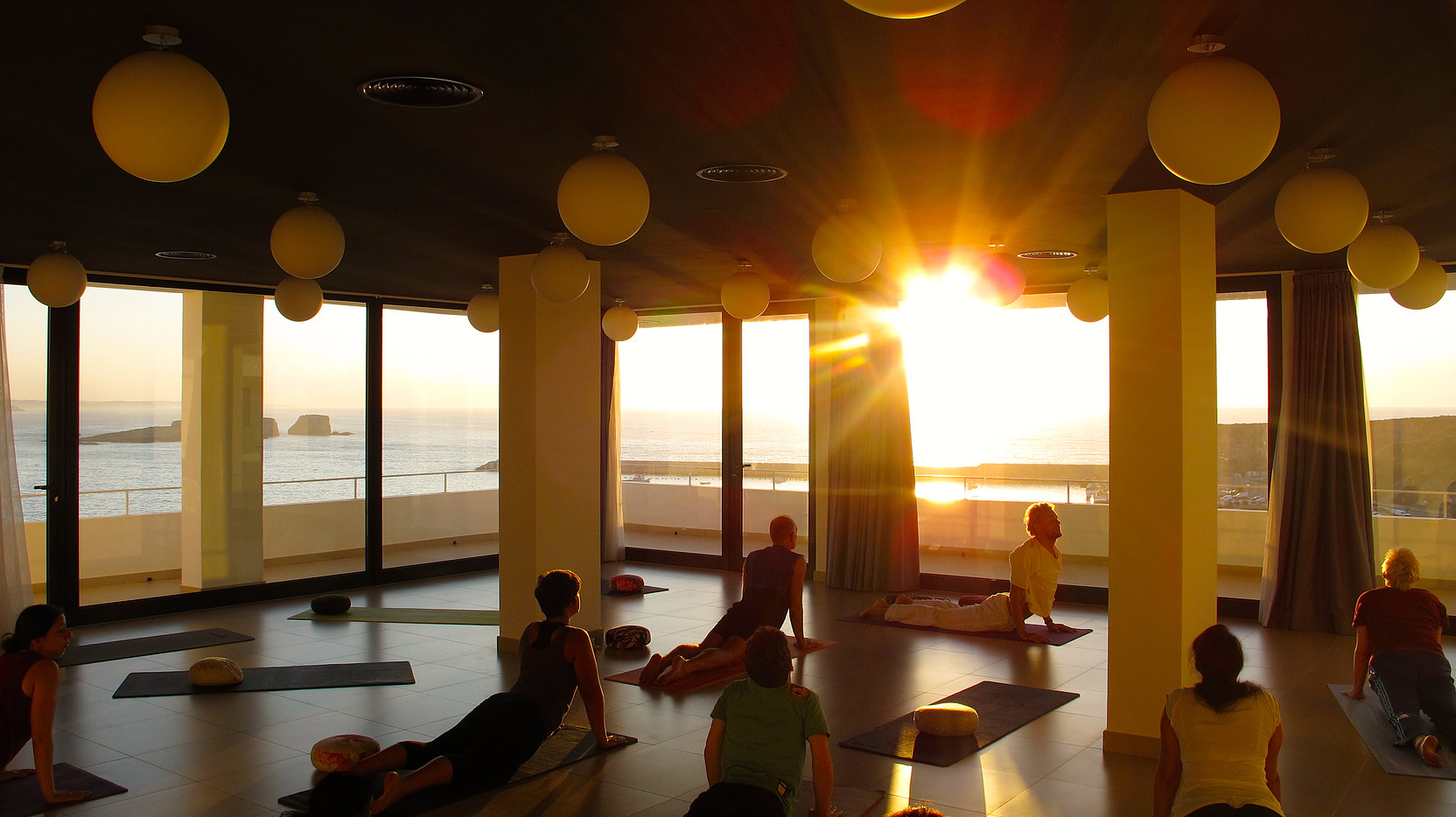 Pure Flow Motions surf yoga retreat in Portugal