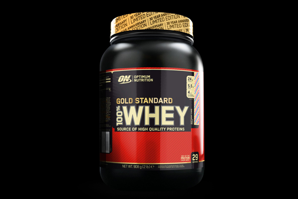 'Birthday cake' flavoured protein powder from Optimum Nutrition