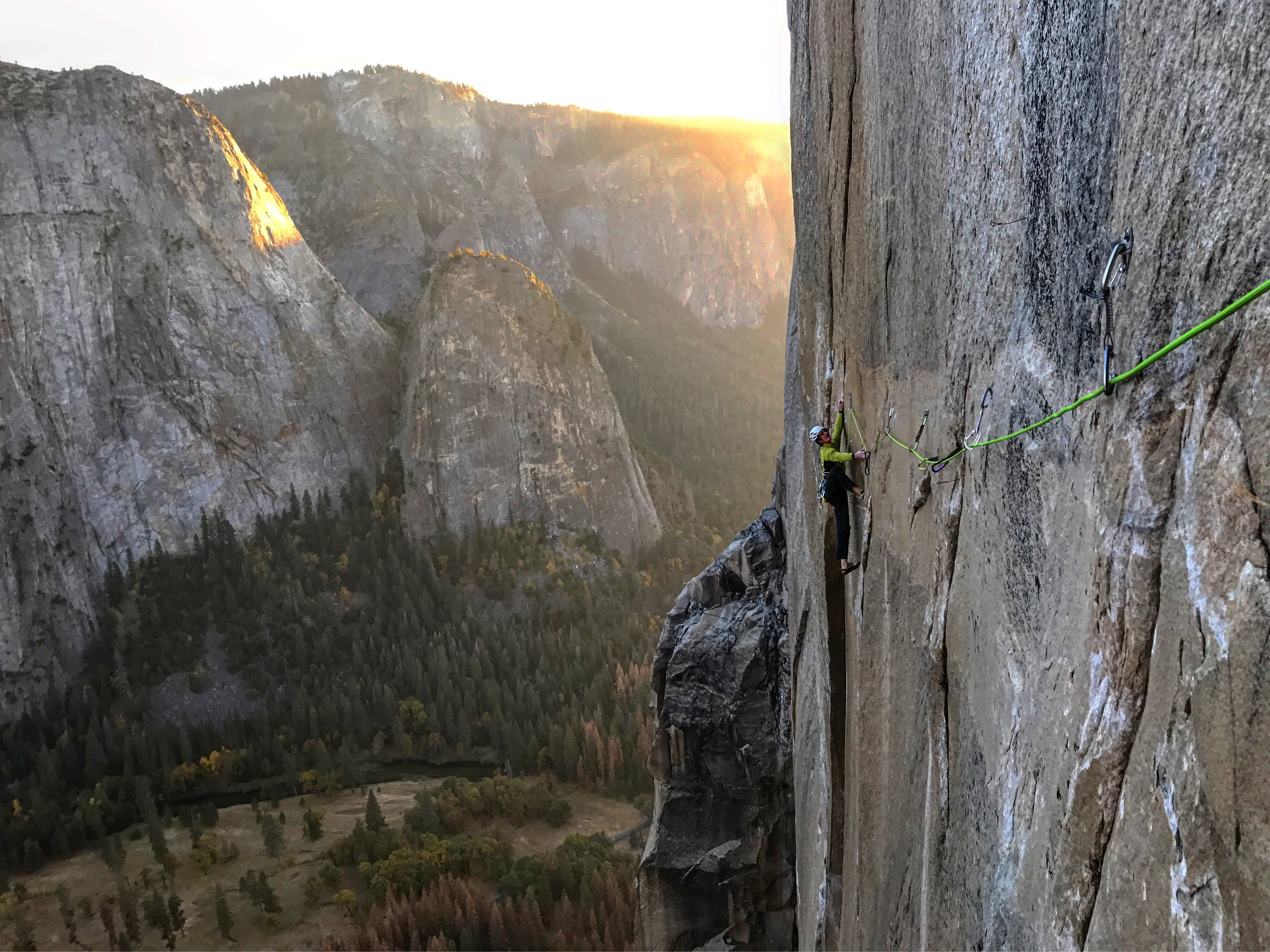 Adam Ondra on climbing Yosemite for the first time