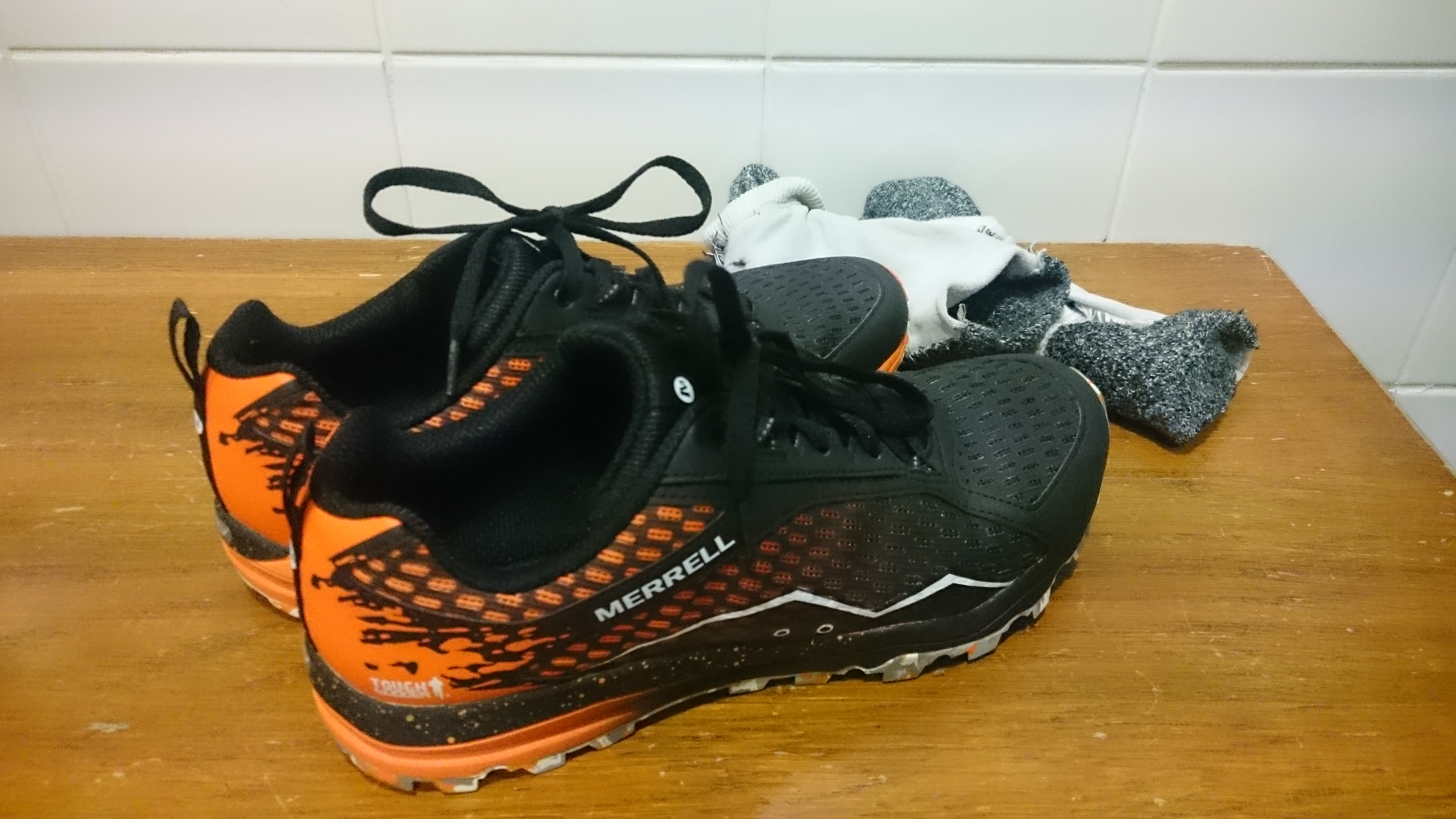 Merrell 'Tough Mudder' edition All Out Crush trainers review