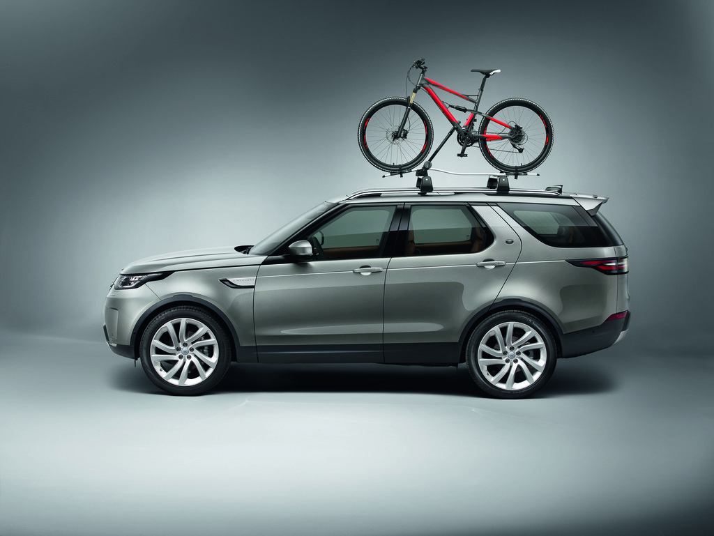 The adventure potential of the all-new Discovery