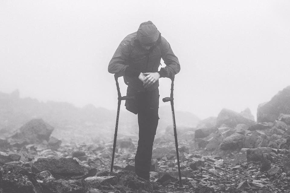 Michael Brans on climbing Ben Nevis with one leg, Ninja Warrior & becoming an EtchRock Elite athlete