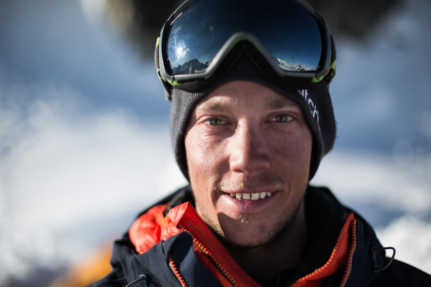 Sam Anthamatten on skiing down 'Corrugated' and training for mountain sports