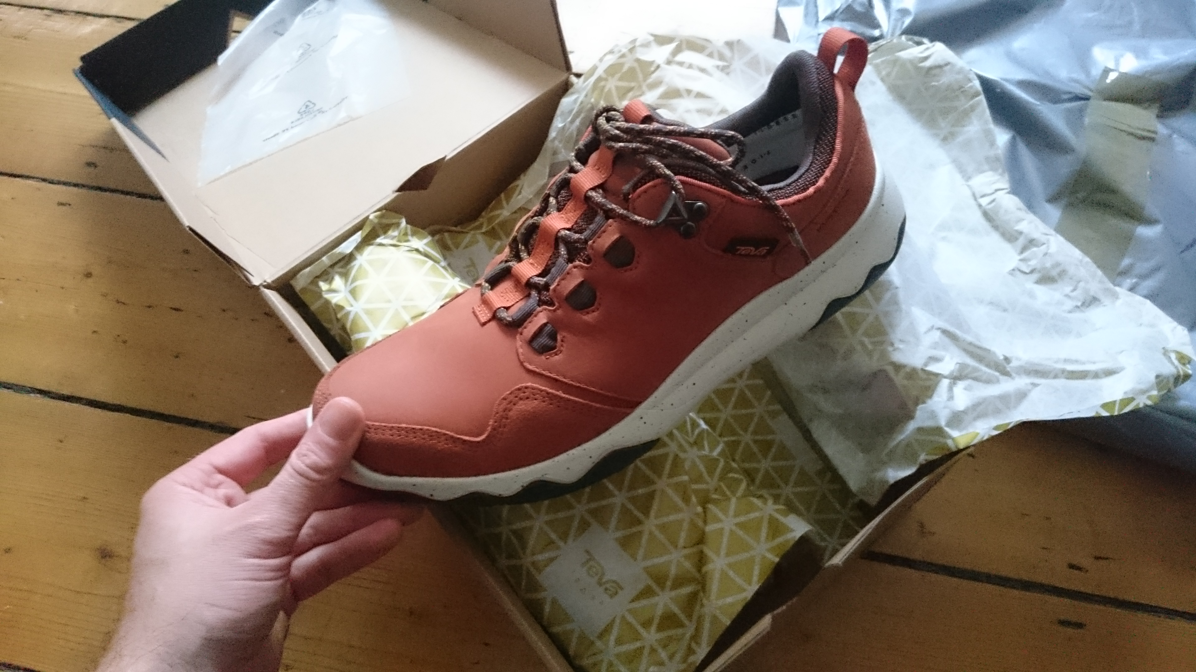 Teva Arrowood Lux WP trainers review