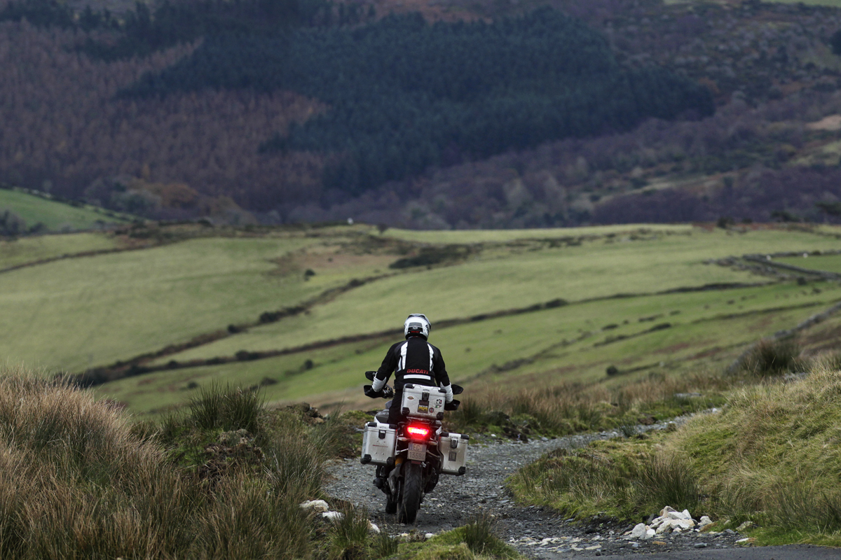 Multistrada 1200 Enduro ridden 30,000km around the globe