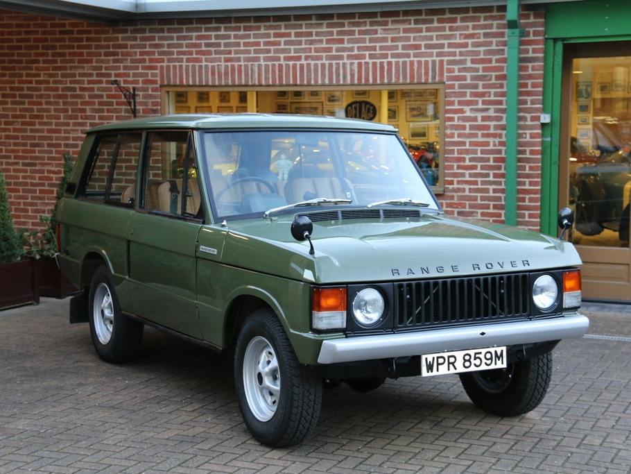 Range Rover Classic with an adventurous past
