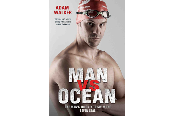 Fireside Reading: Man Vs Ocean book by Adam Walker