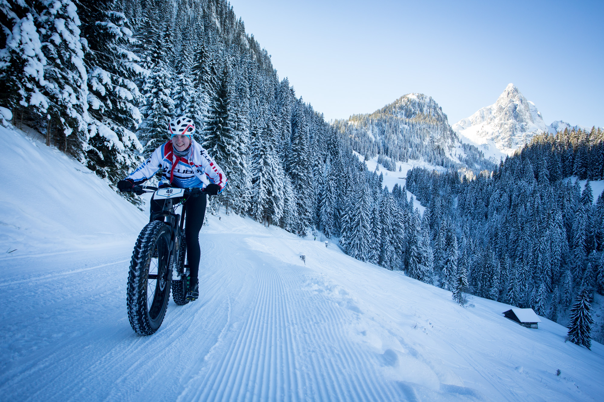 Report from Stage 1 of the Snow Bike Festival