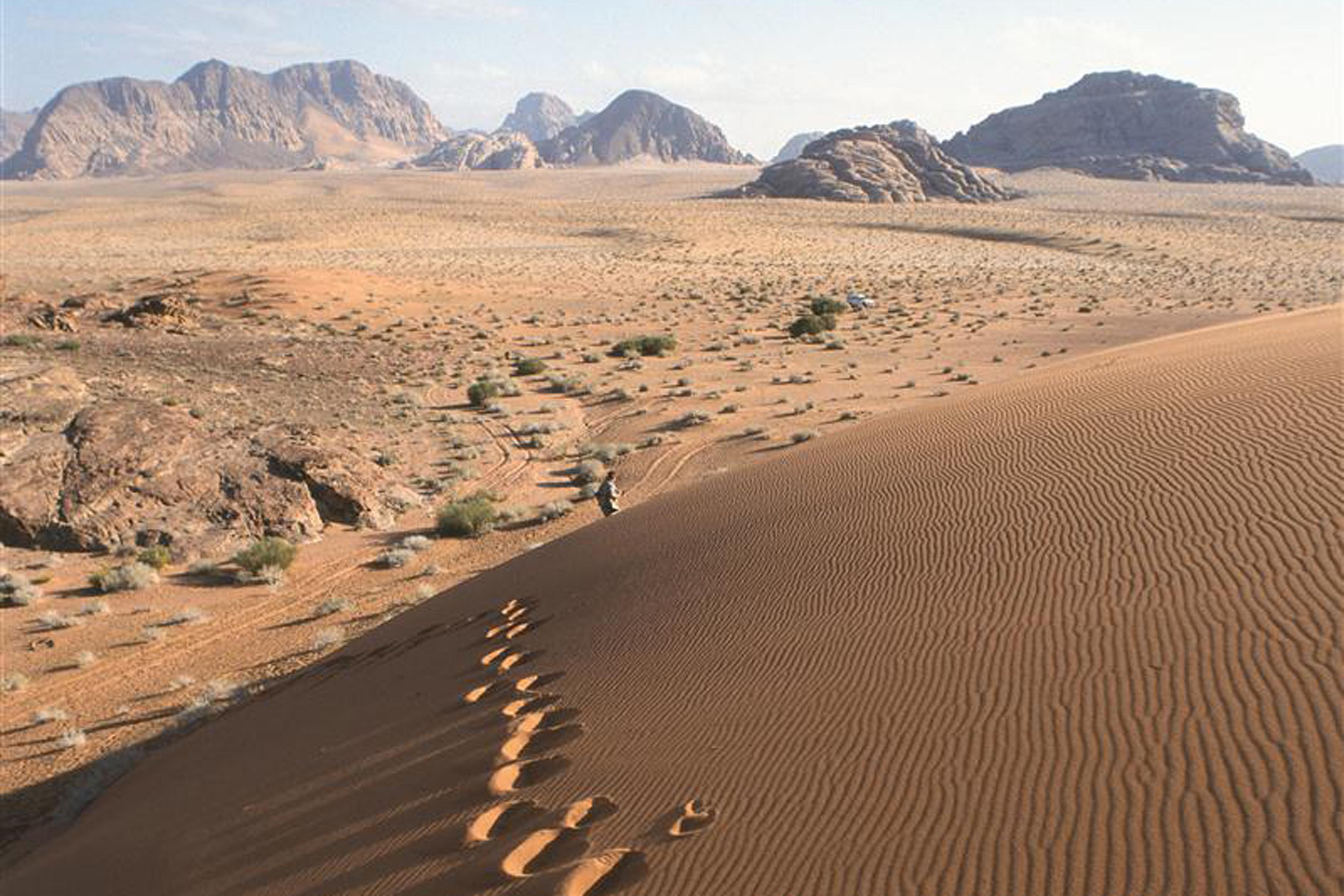 Hike the length of the Jordan Trail