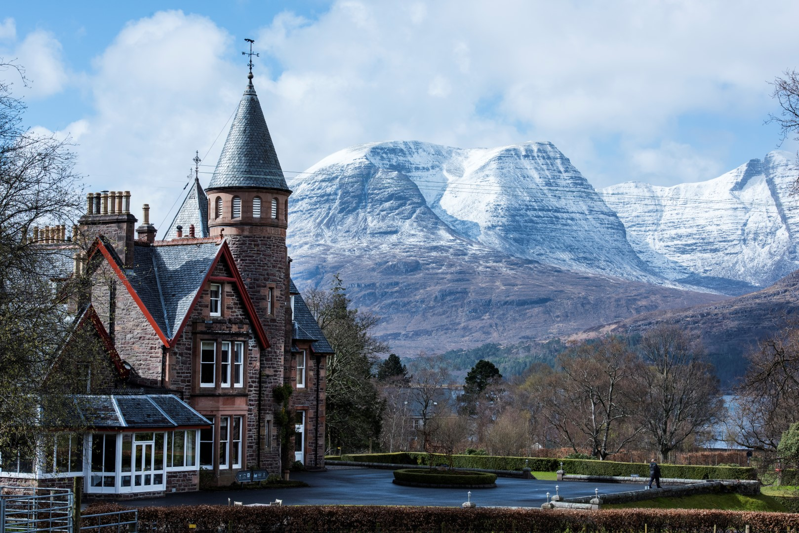 The Torridon Hotel in the Scottish Highlands
