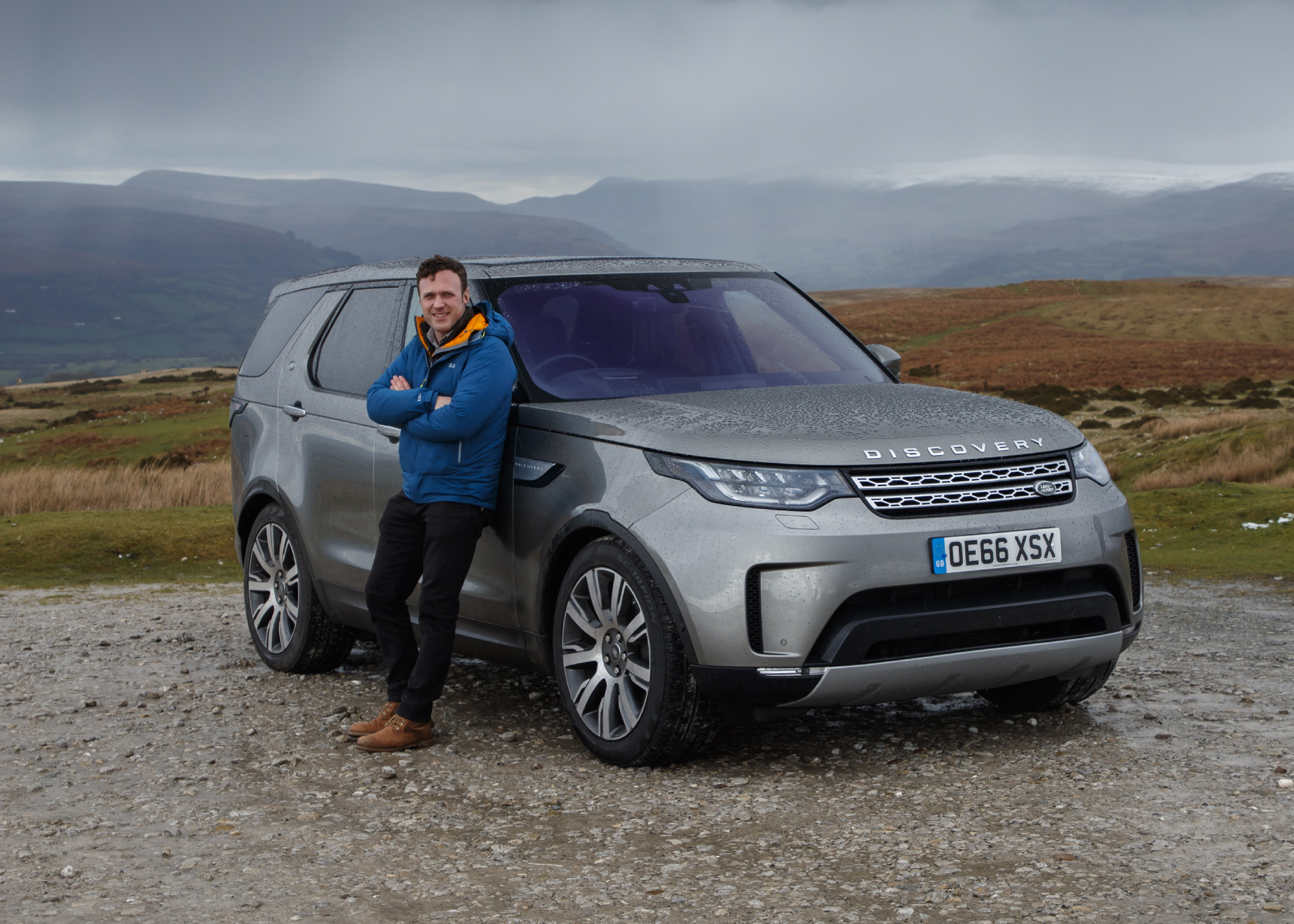 New Land Rover Discovery driven