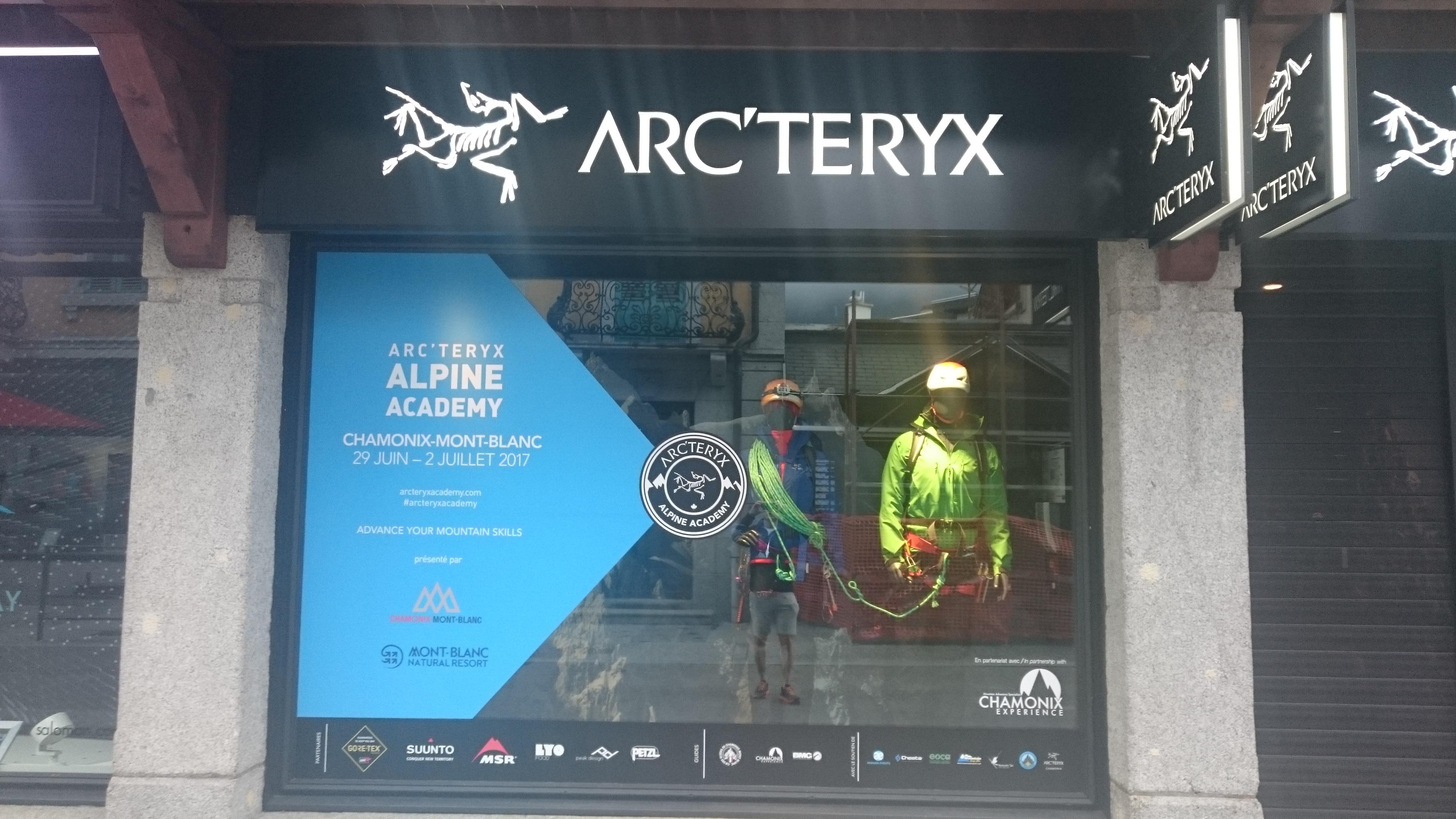 It's the Arc'teryx Alpine Academy this Thursday to Sunday