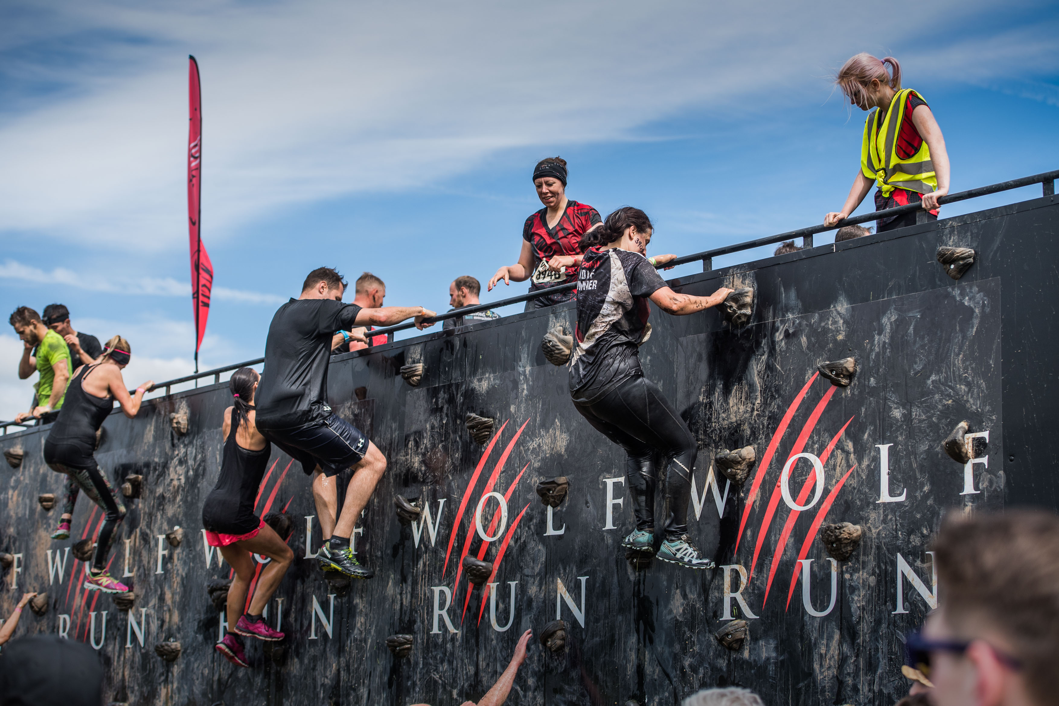 Buy four places for the Wolf Run and get one free