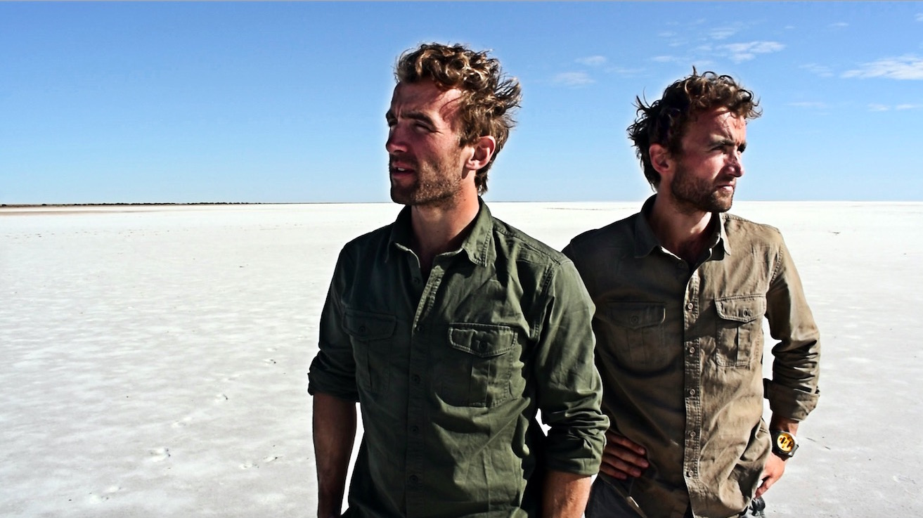 Turner Twins announce their 'Green Pole' adventure