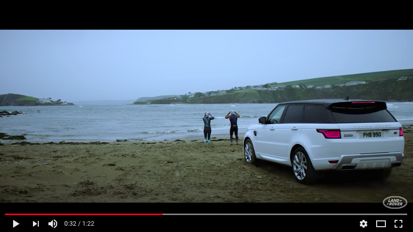 Video: Taming the Tide in a Range Rover Sport