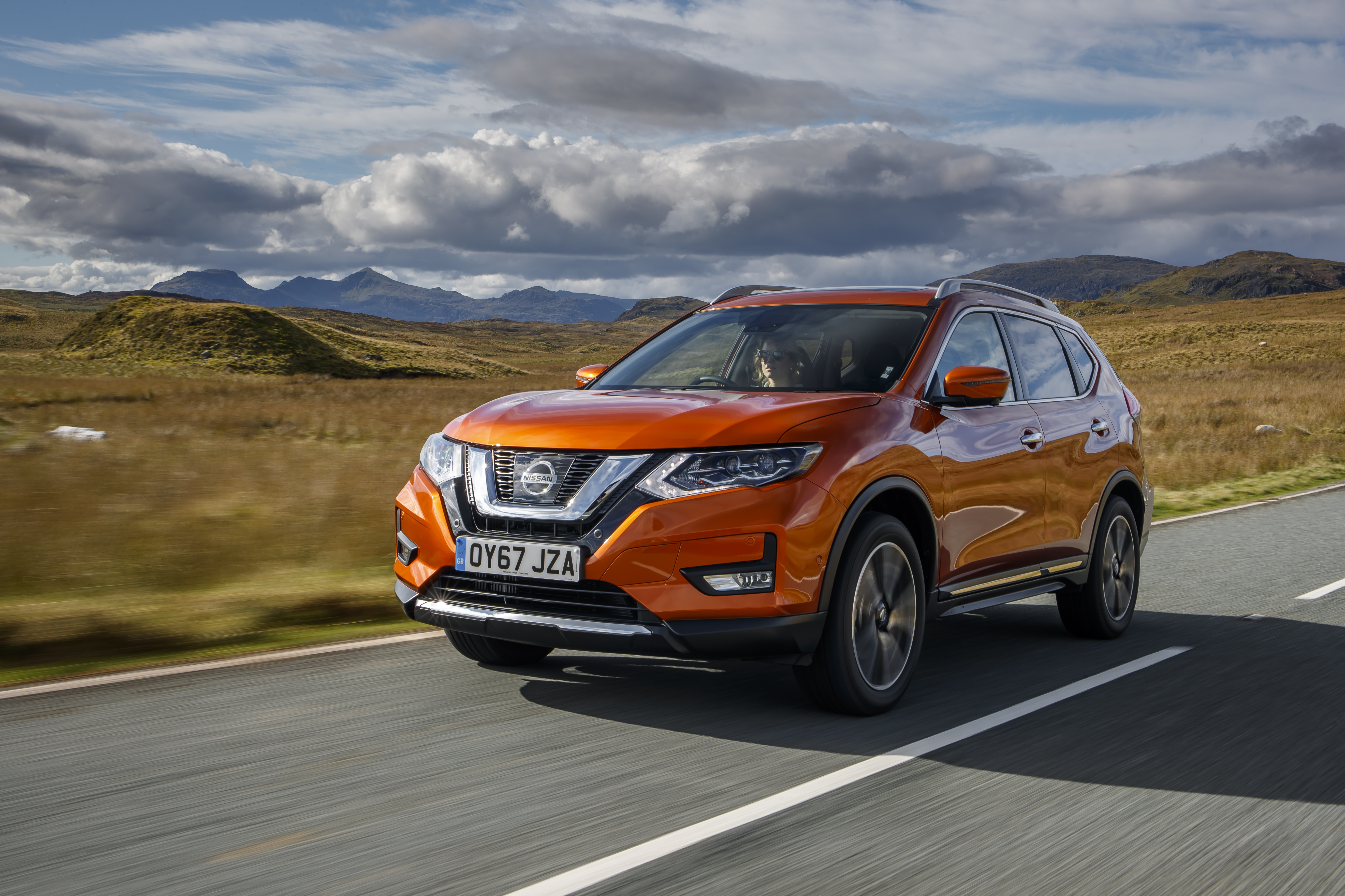 New Nissan X-Trail driven in Wales
