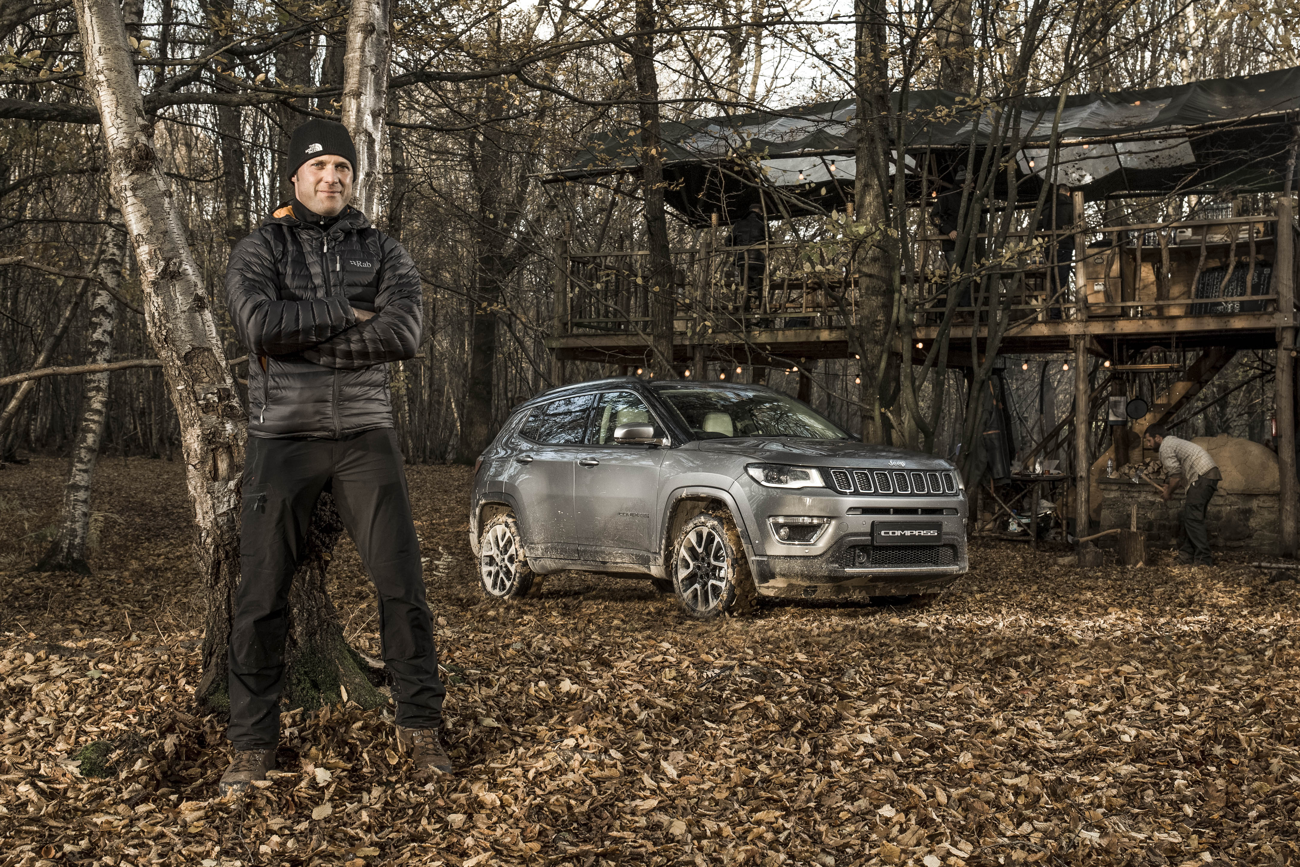 Driving the new Jeep Compass