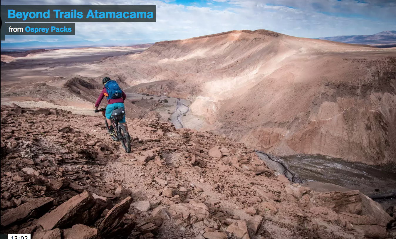 The beauty of bikepacking in the Atacama Desert