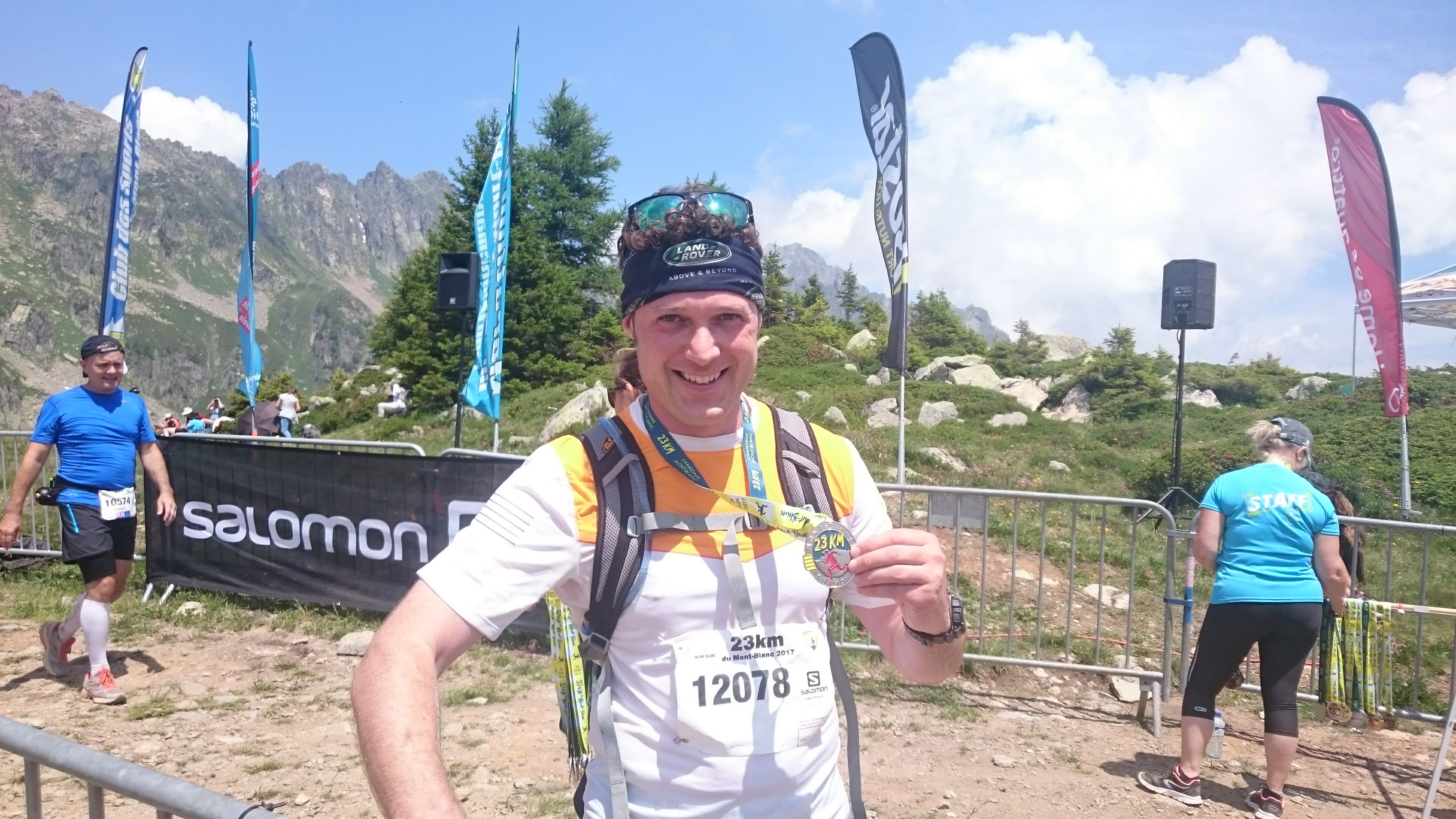 What's it like to run the 23km Mont Blanc Marathon?