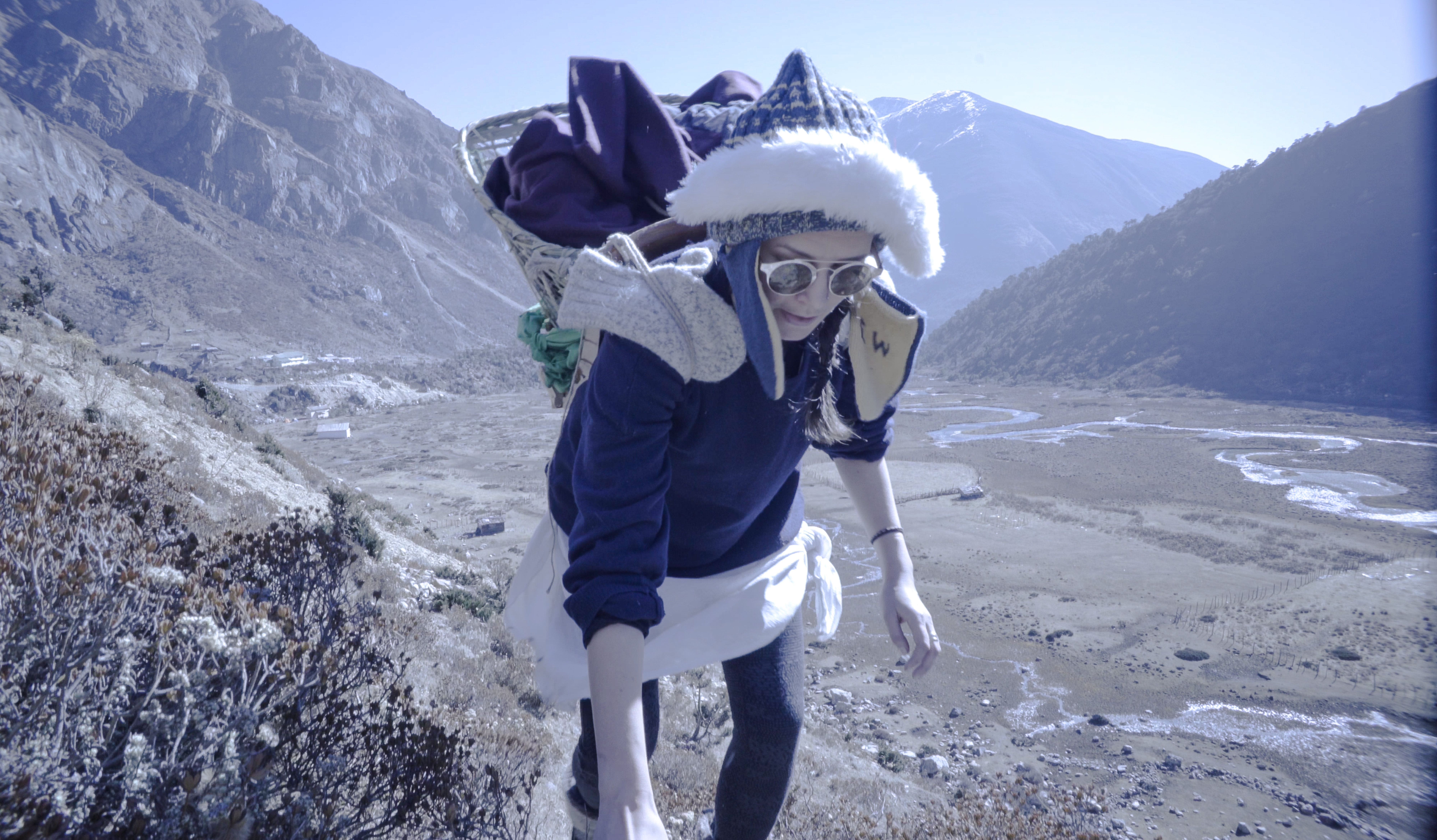 Adventurer Elise Wortley replicates historic Himalayan trek