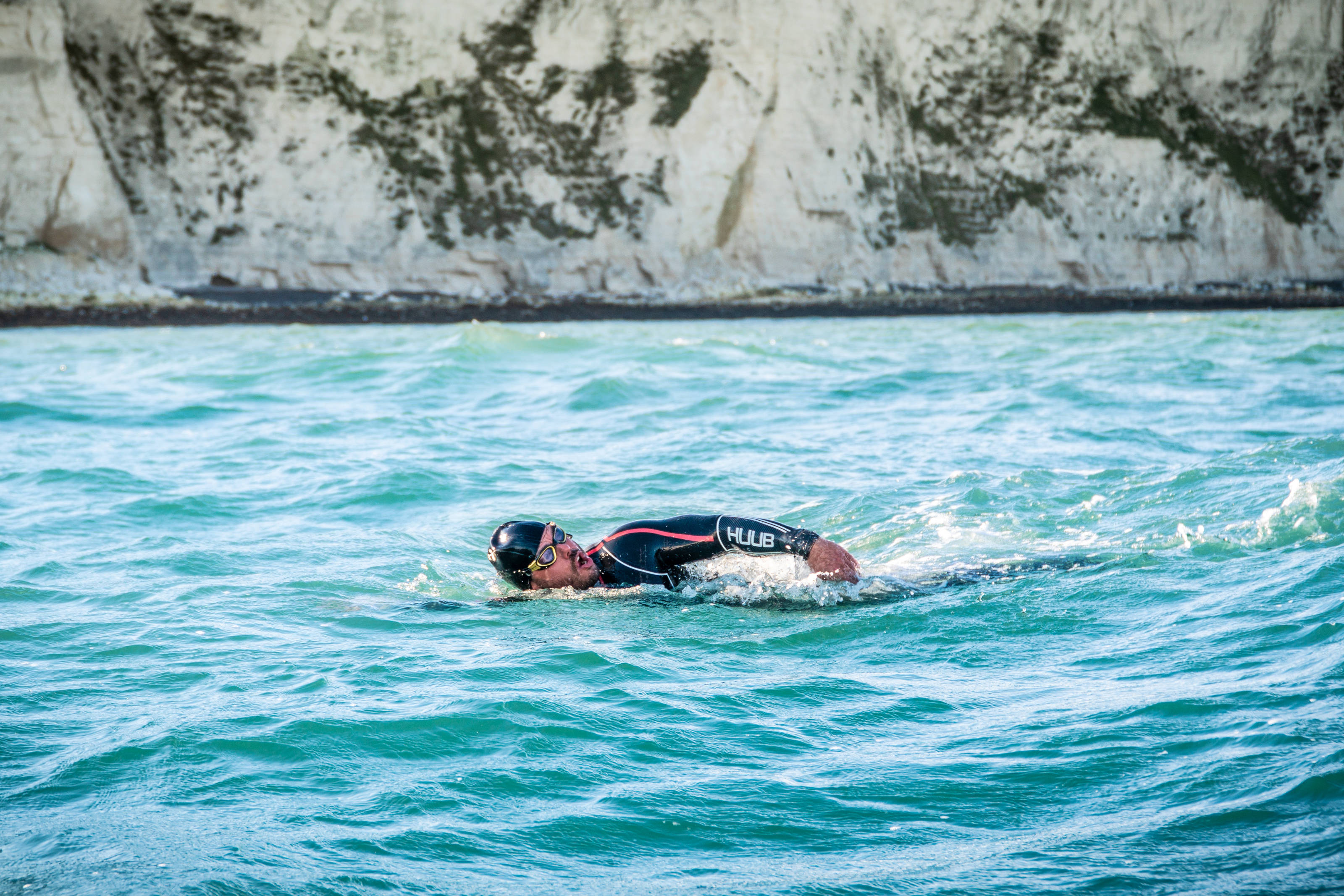 Ross Edgley is swimming around Great Britain
