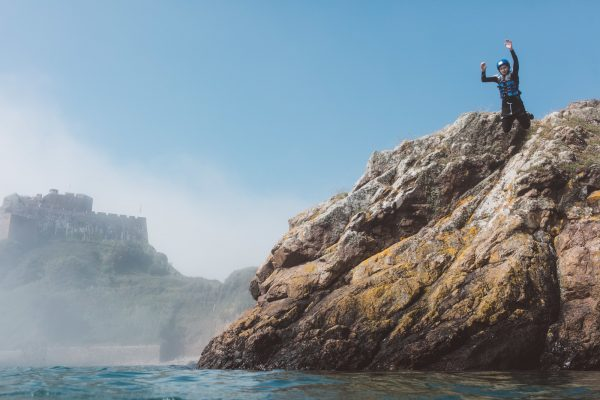 Visit Jersey_Coasteering