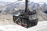 The world's largest open-top gondala in Tignes