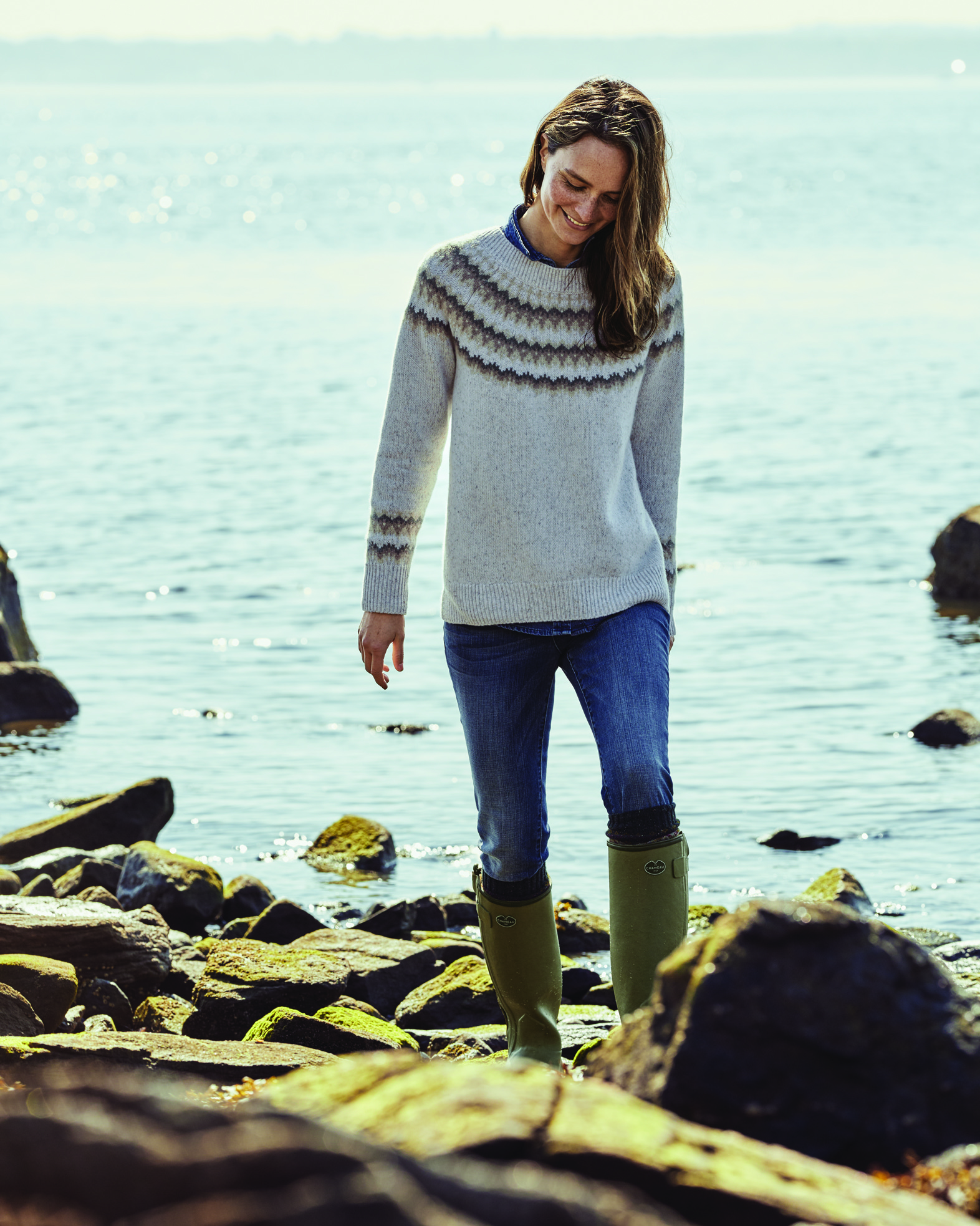 Winter knitwear from Orvis