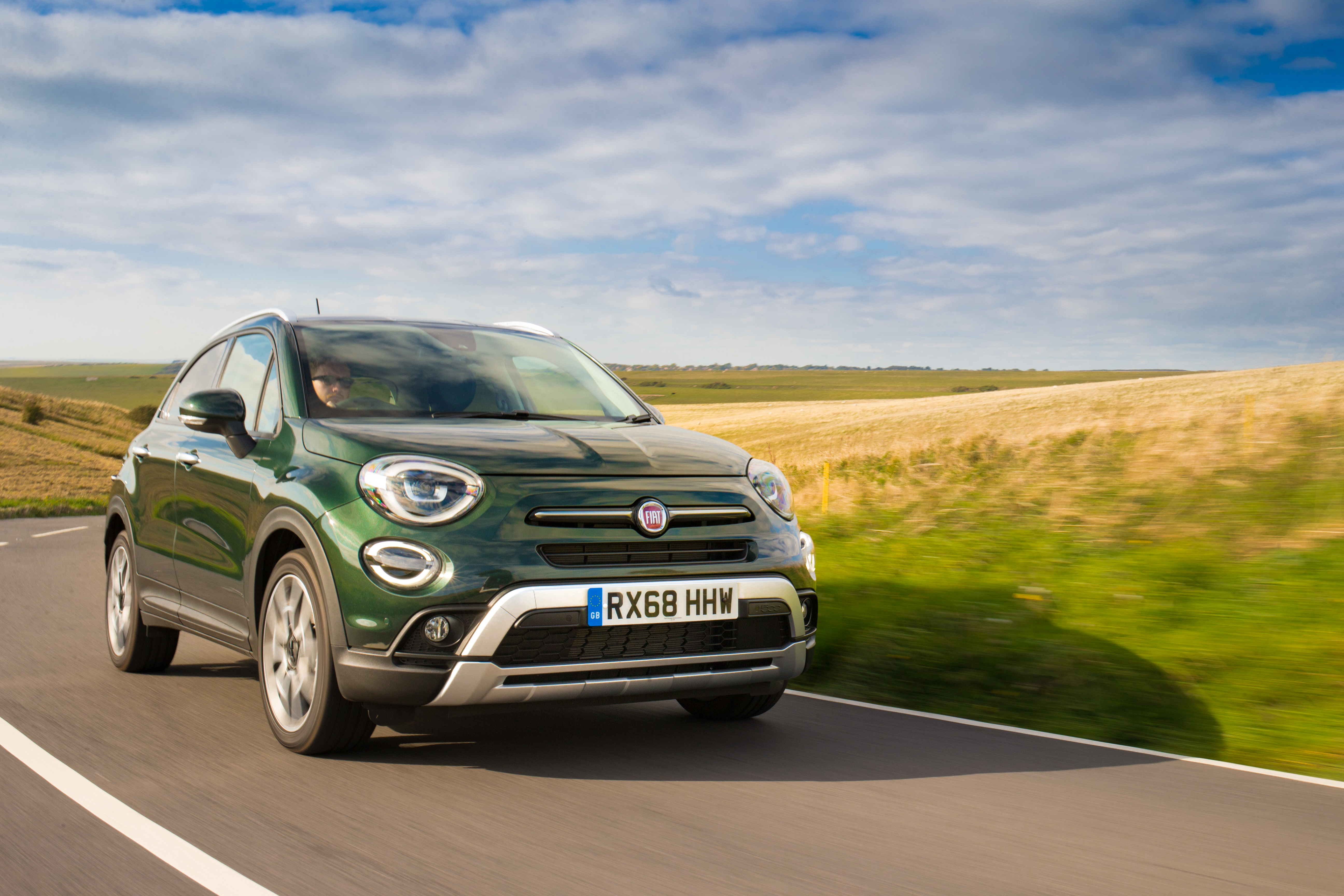 An autumnal drive in the new Fiat 500X