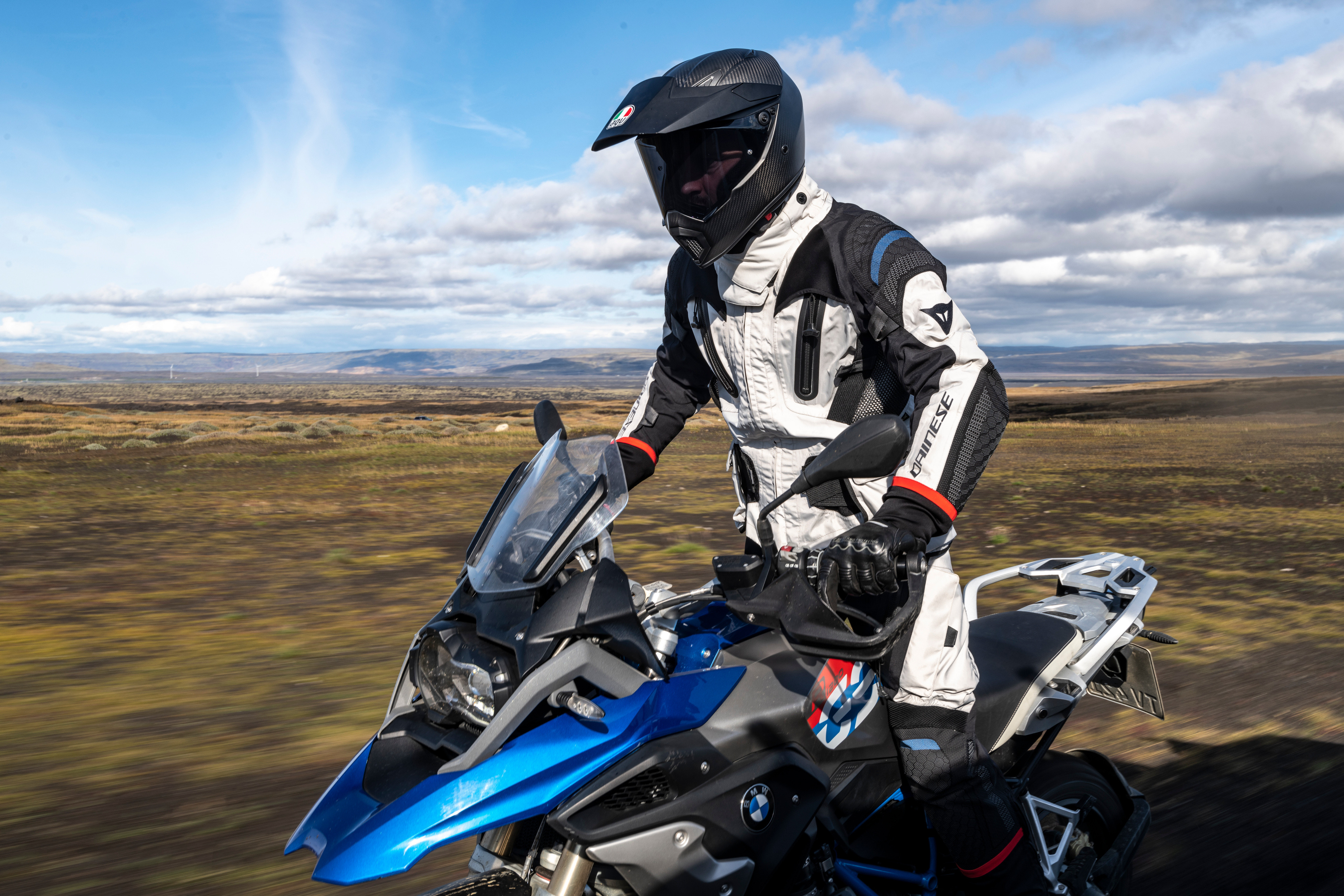 New biking kit from Dainese called the Explorer Collection