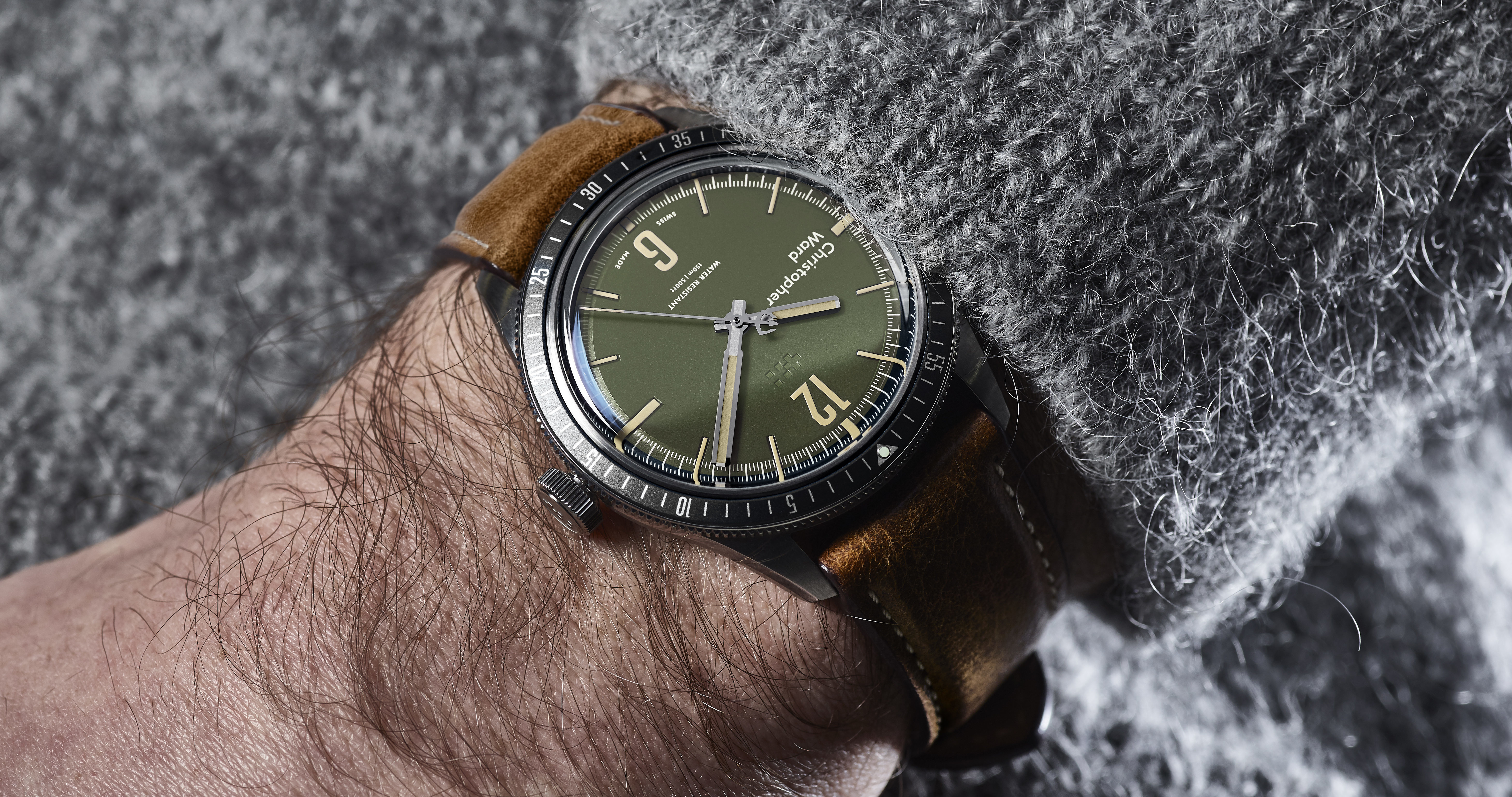 New Kit: C65 Trident Diver watch in khaki