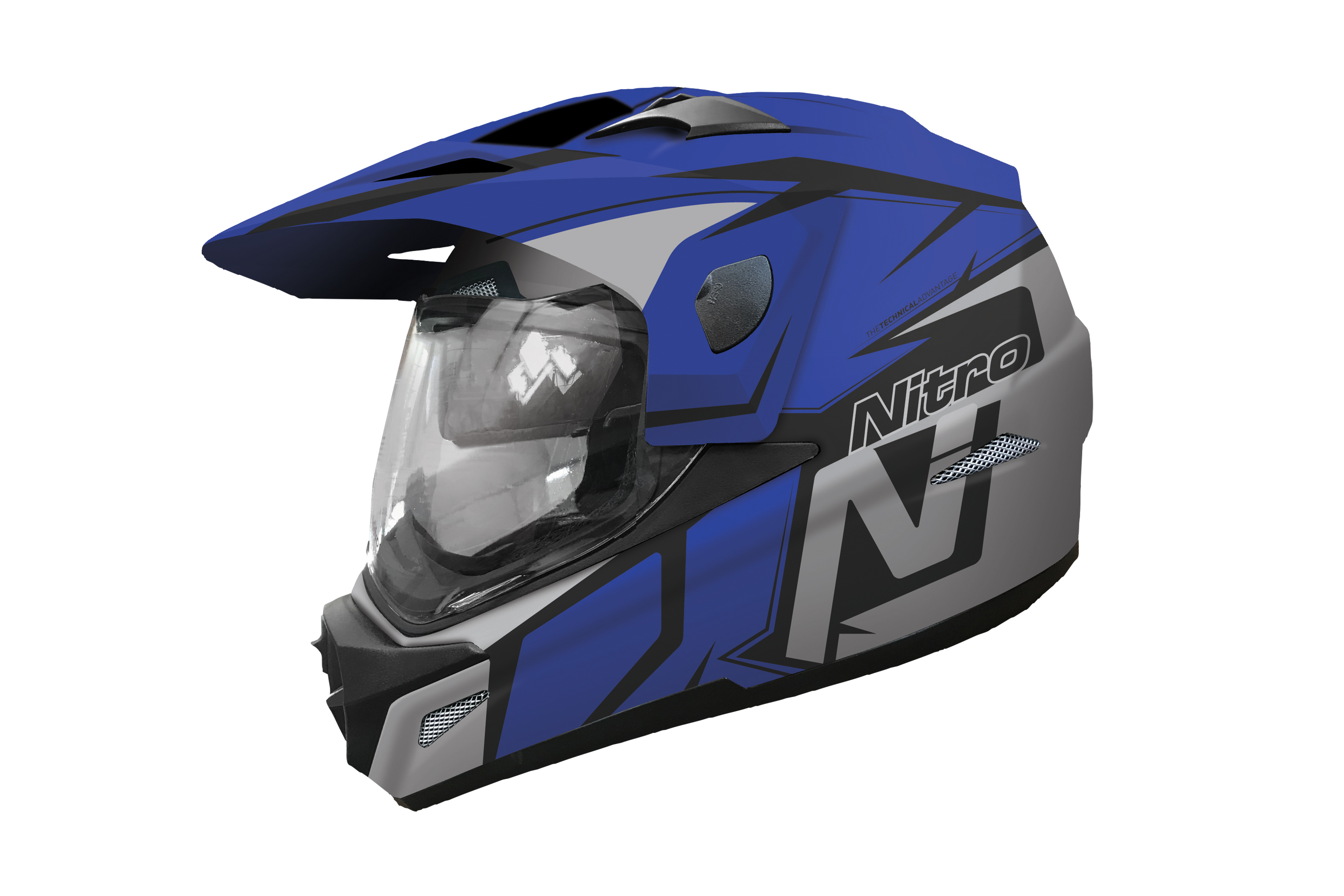 New adventure motorcycling helmet from Nitro