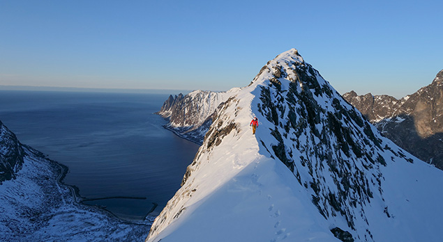 Special talks about climbing on Senja Island this January