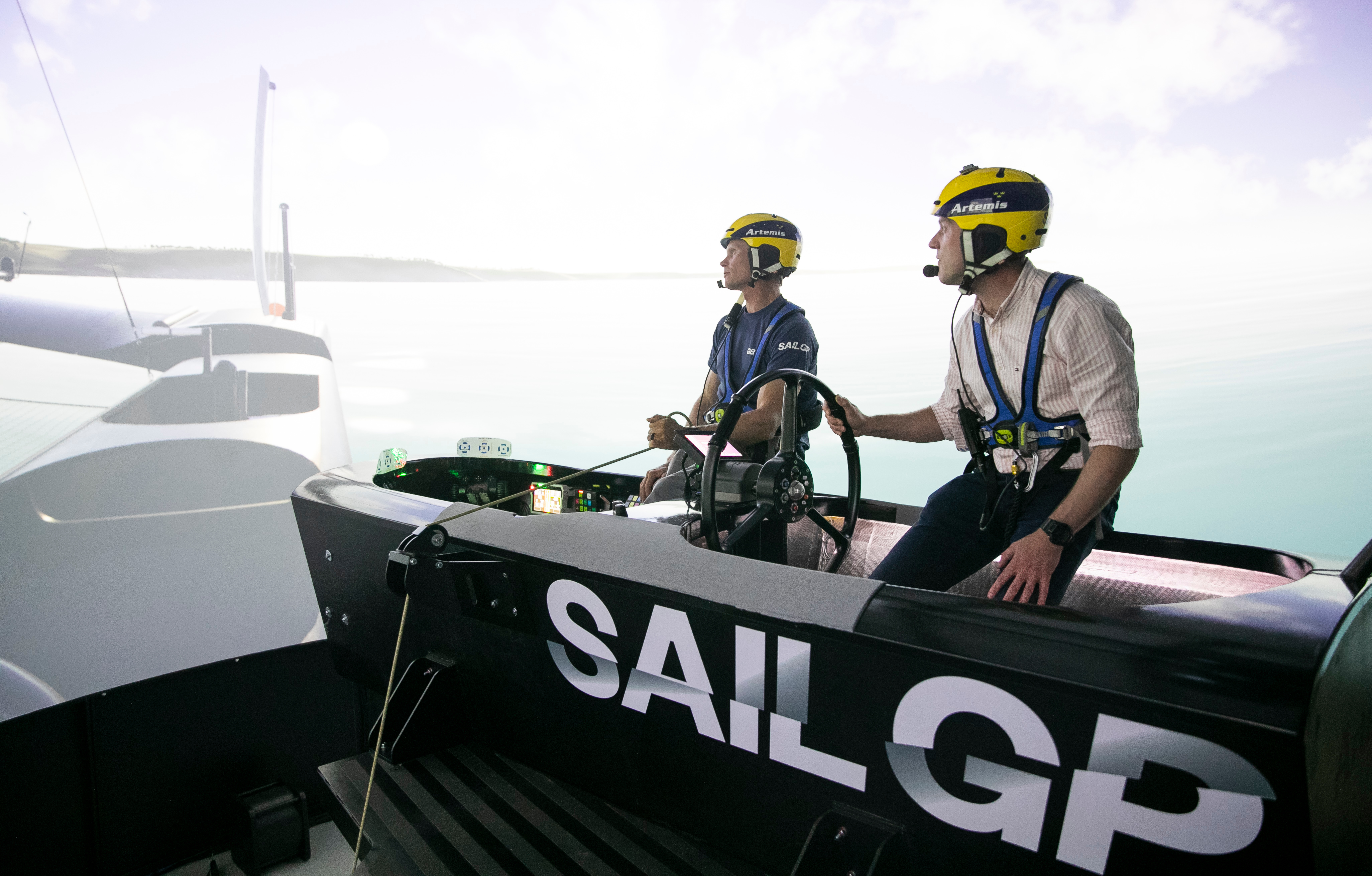 Hands on with the incredible SailGP simulator