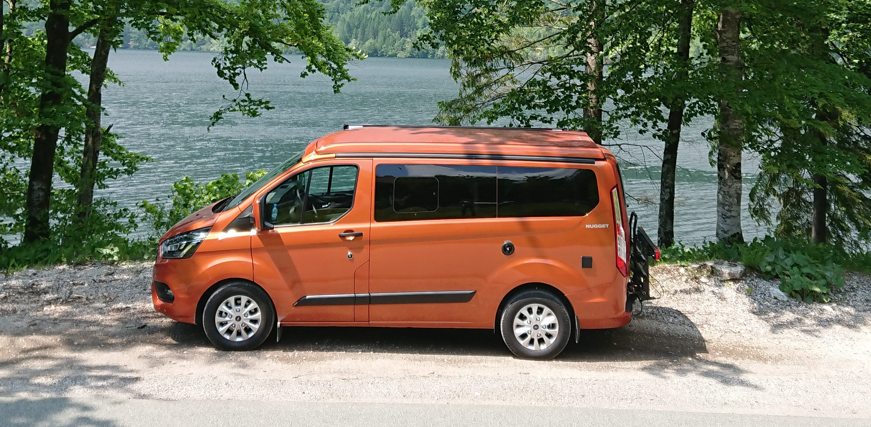 Three days of adventure in the Ford Nugget camper van