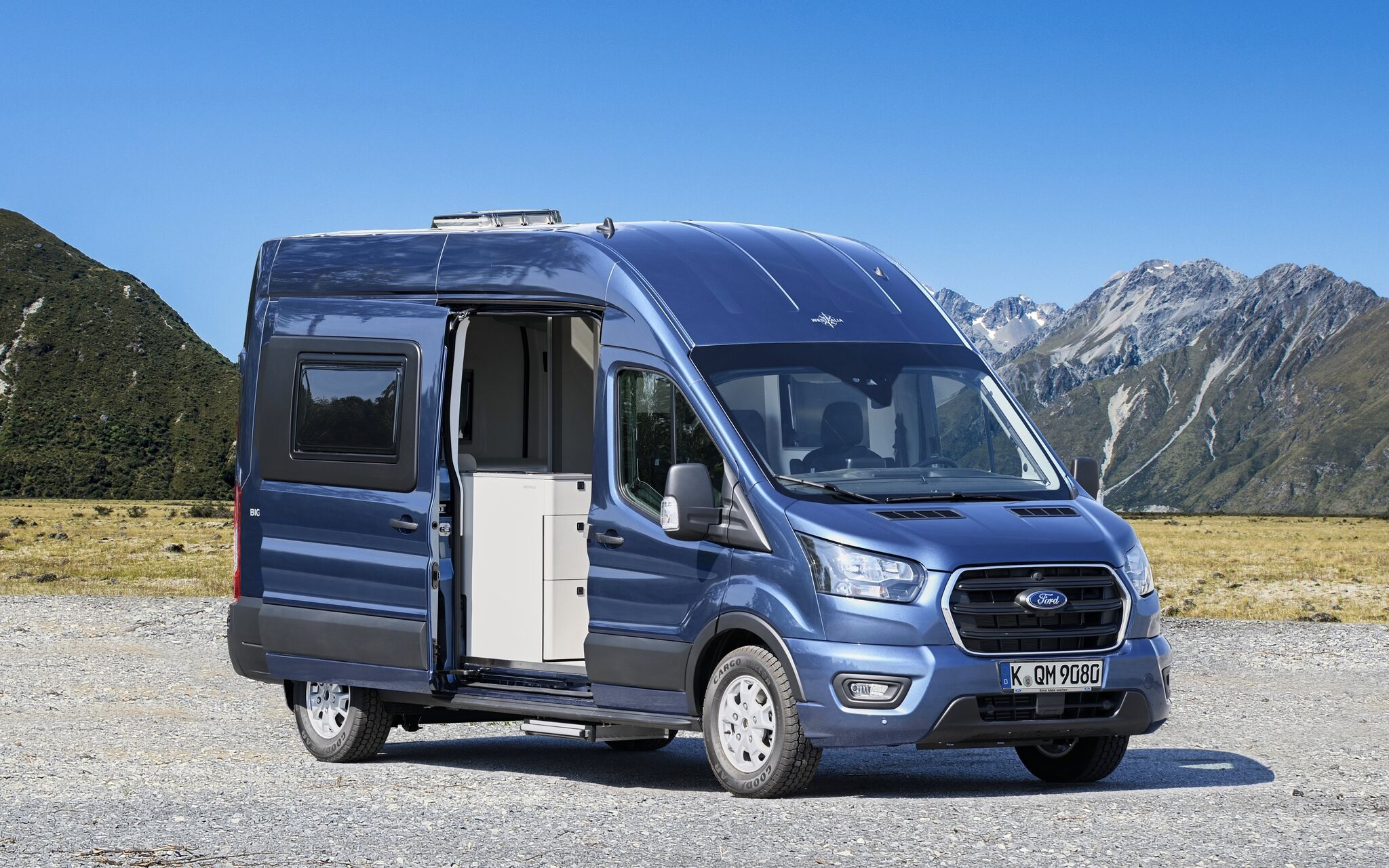 'Big Nugget' concept campervan from Ford