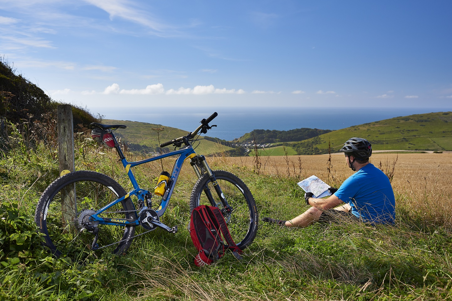 Incredible off-road biking event at Lulworth Estate in South Dorset